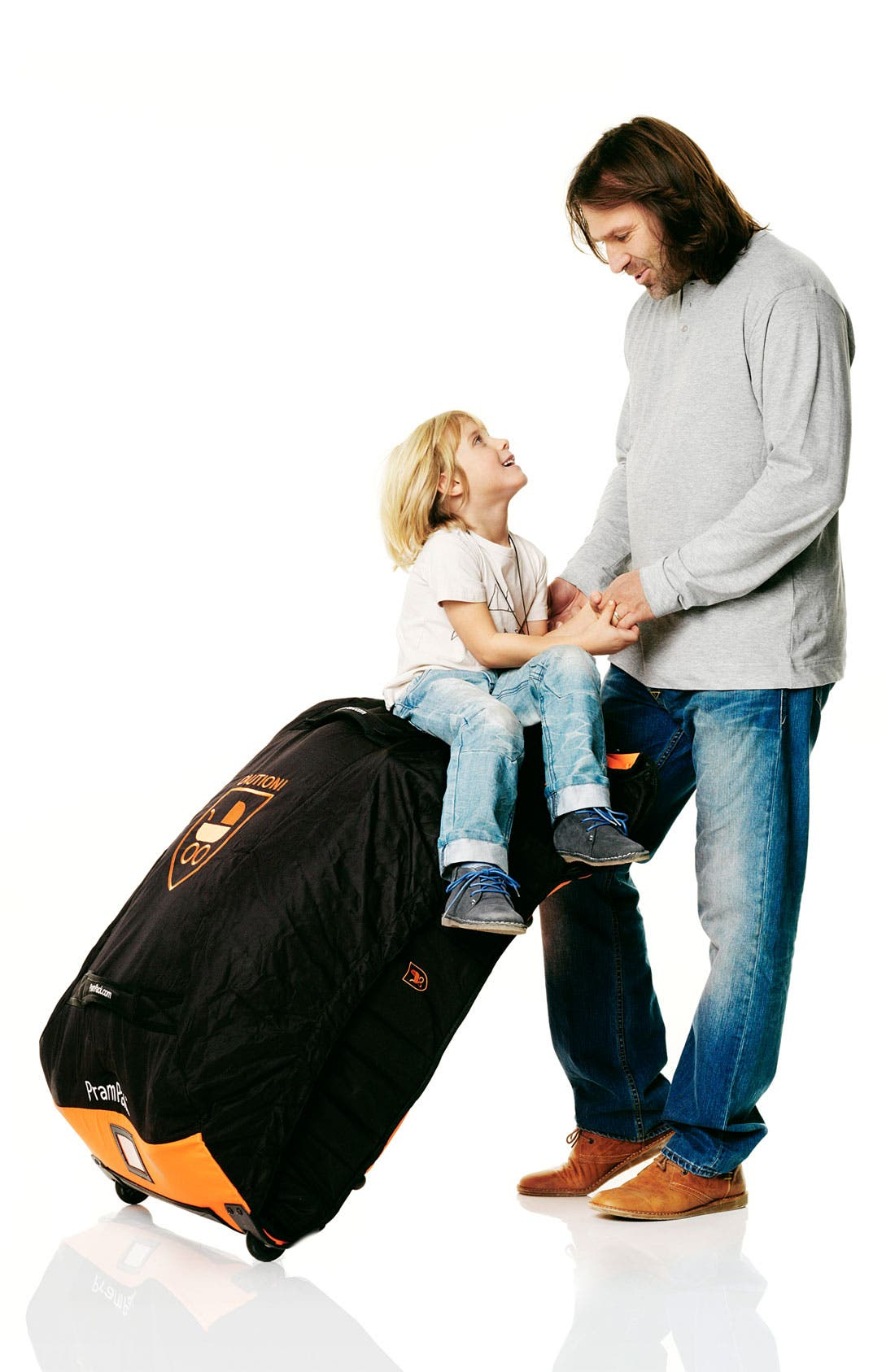Pram Pack<sup>™</sup>,                             Alternate thumbnail 5, color,                             ORANGE/ BLACK
