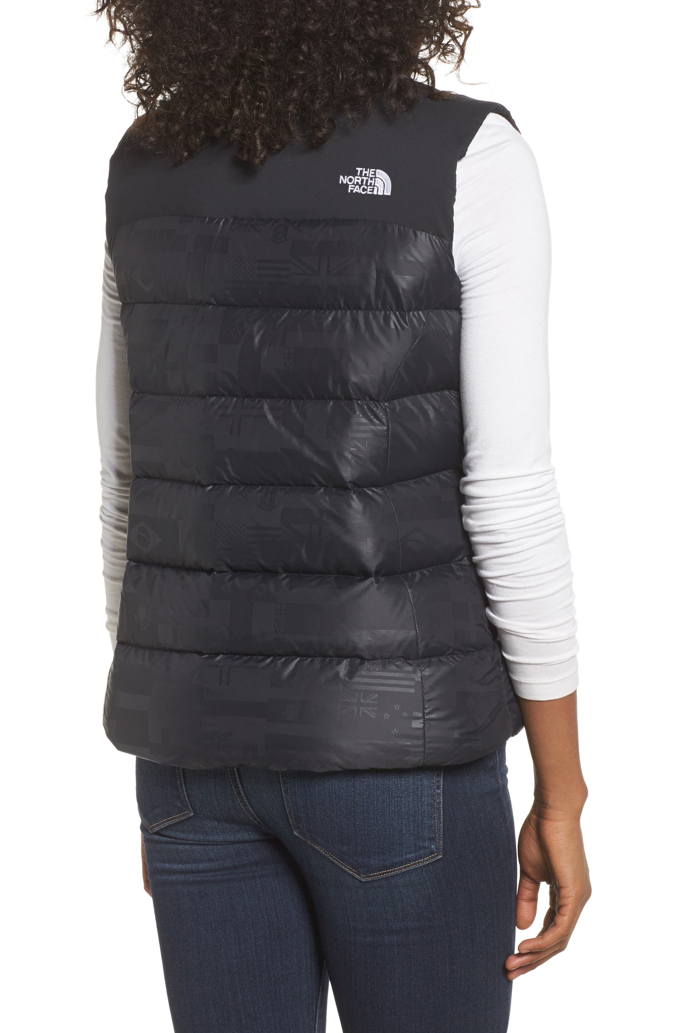 International Collection Nuptse 700-Fill Power Down Puffer Vest,                             Alternate thumbnail 2, color,                             001