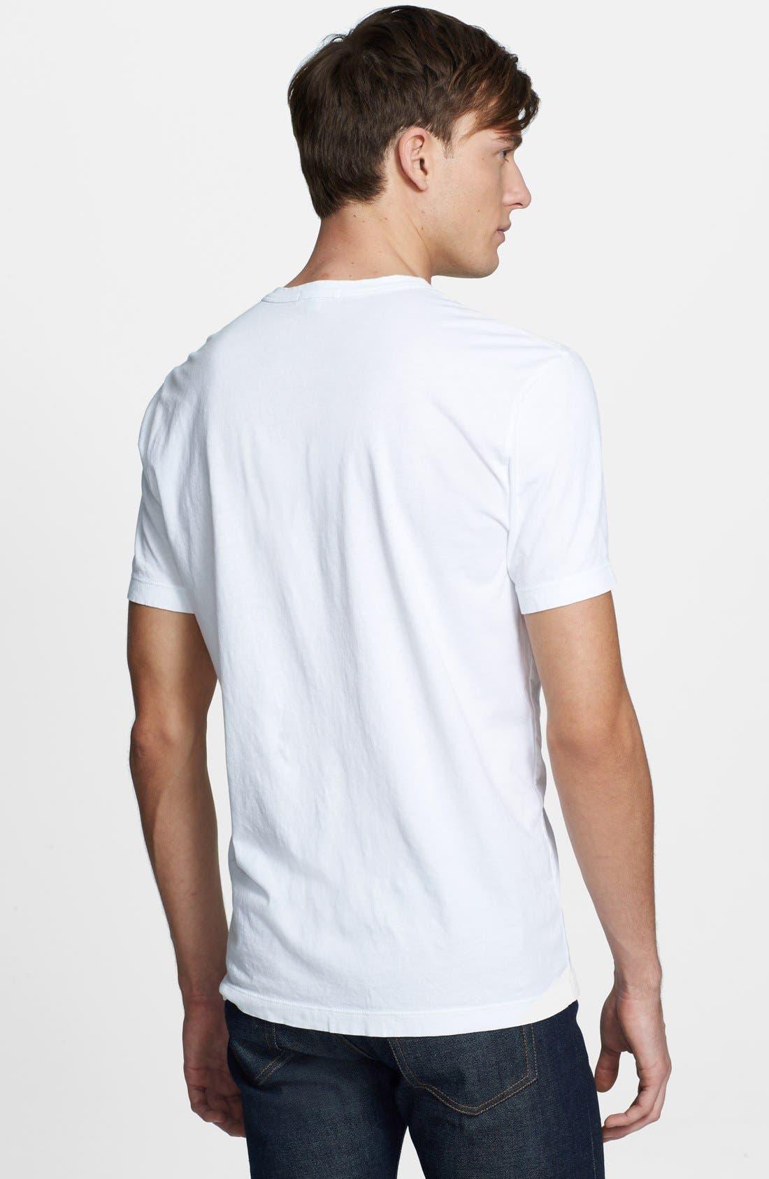 Crewneck Jersey T-Shirt,                             Alternate thumbnail 490, color,