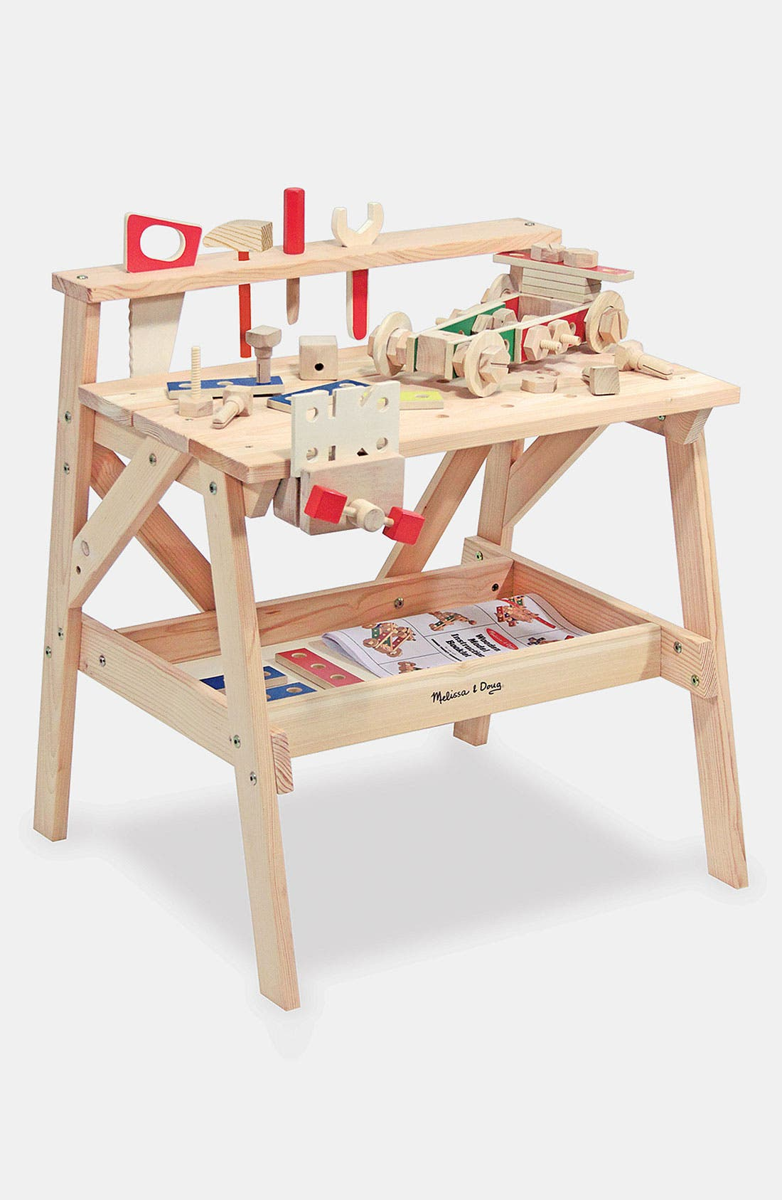 Wooden Project Workbench,                             Alternate thumbnail 2, color,                             VARIOUS