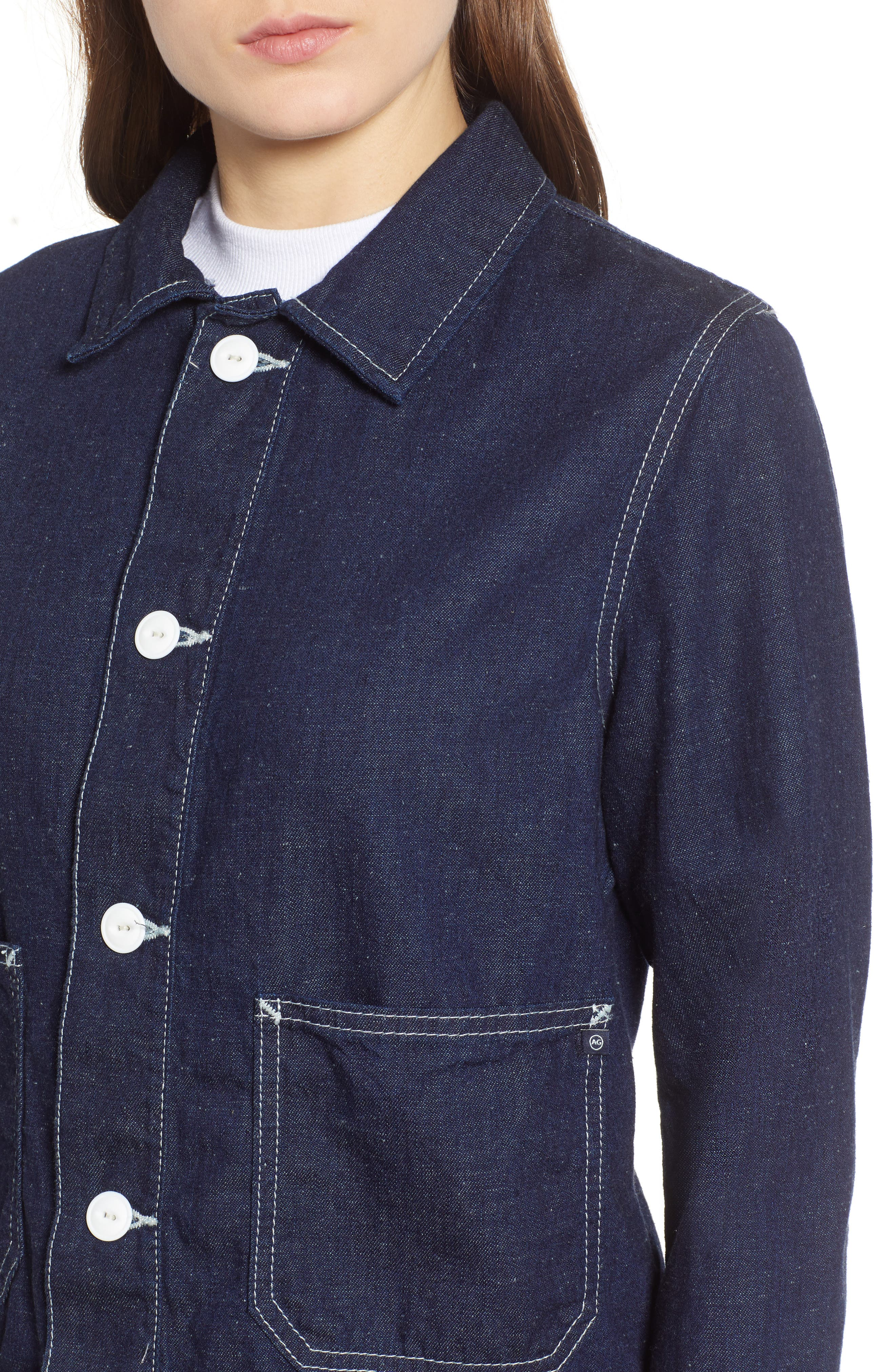 Avenall Jacket,                             Alternate thumbnail 4, color,                             MIDNIGHT SURGE MTS