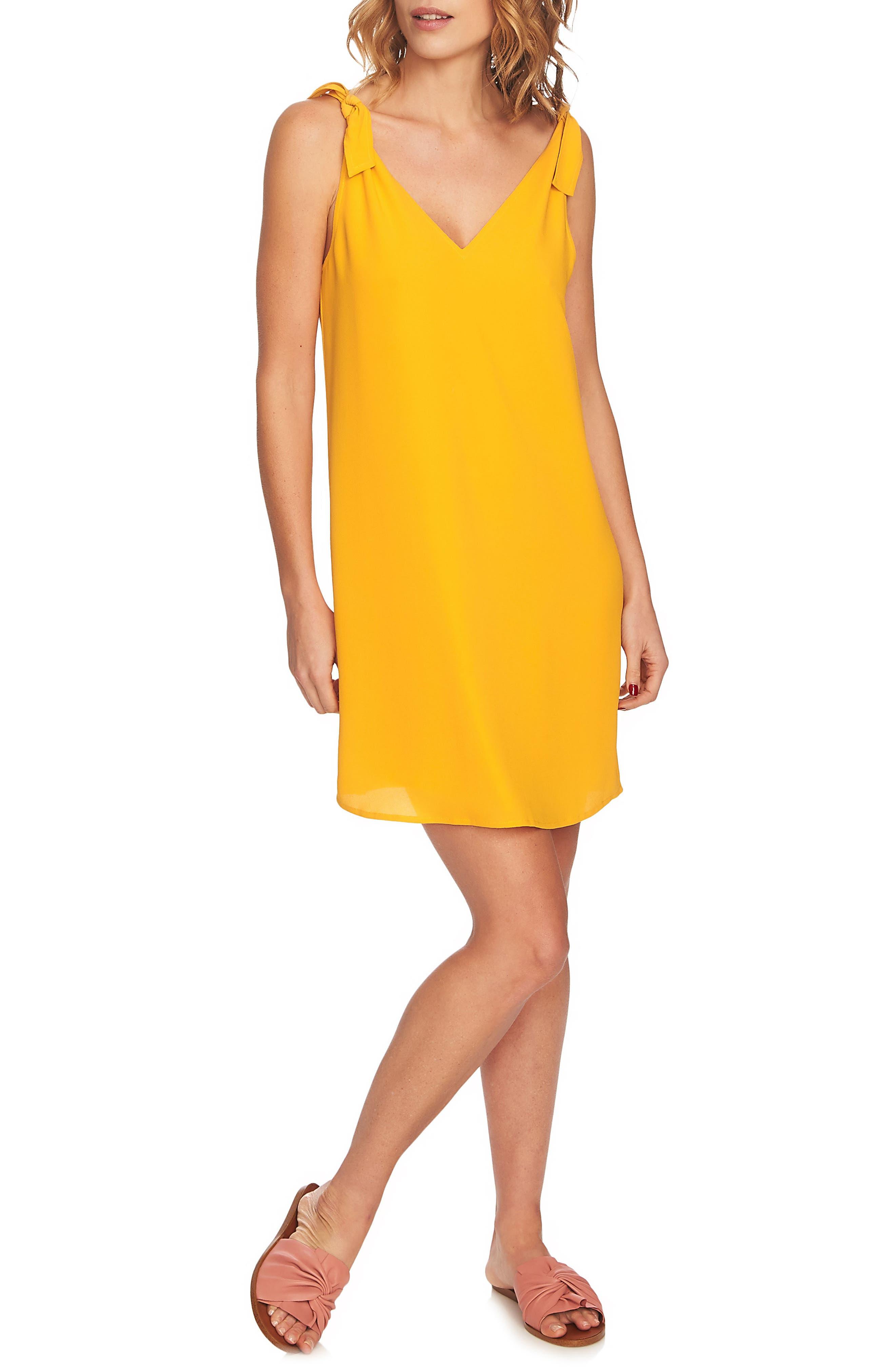 Tie Shoulder Shift Dress,                         Main,                         color, 702