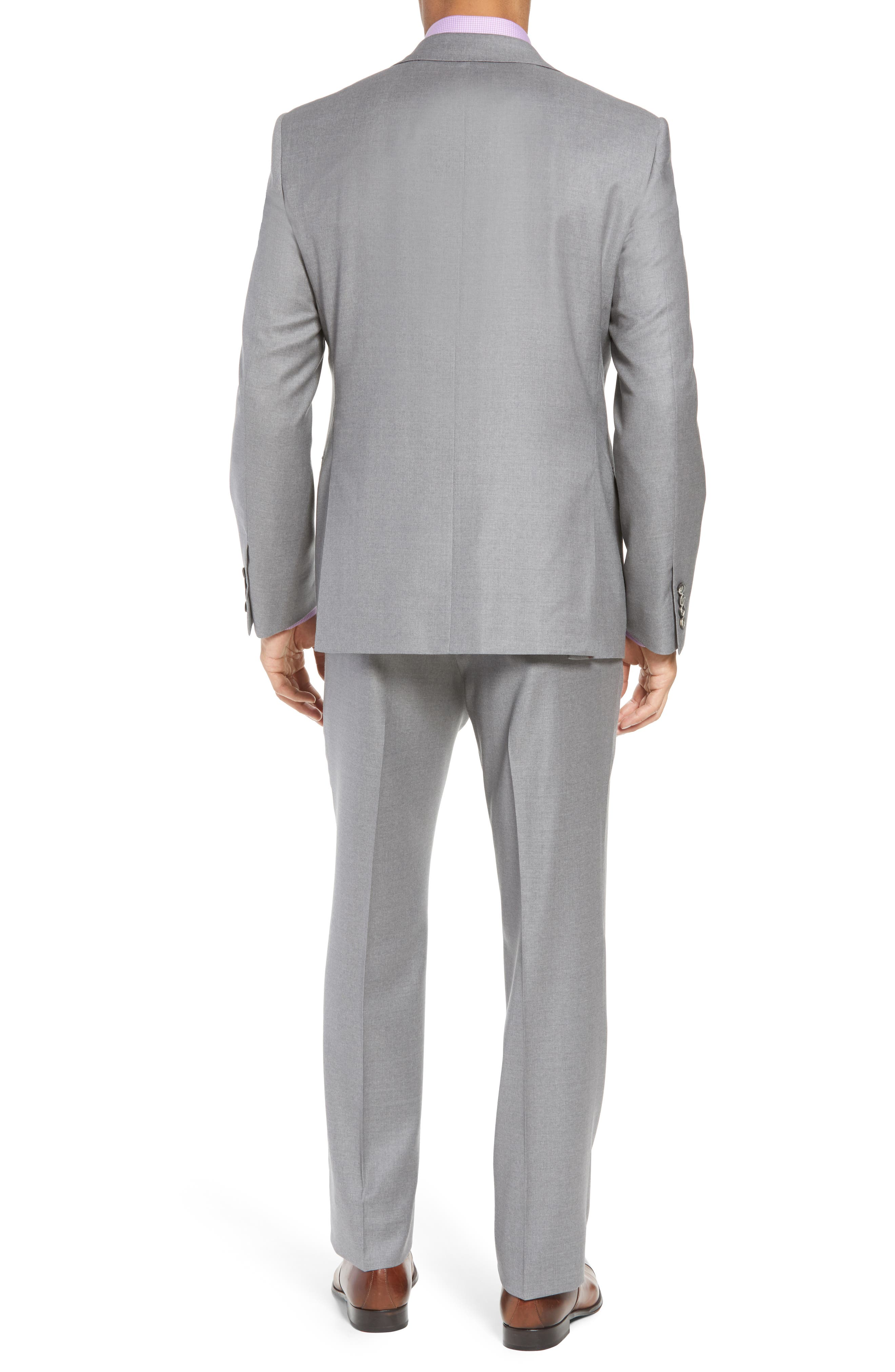 Bennet Classic Fit Solid Wool Suit,                             Alternate thumbnail 2, color,                             020