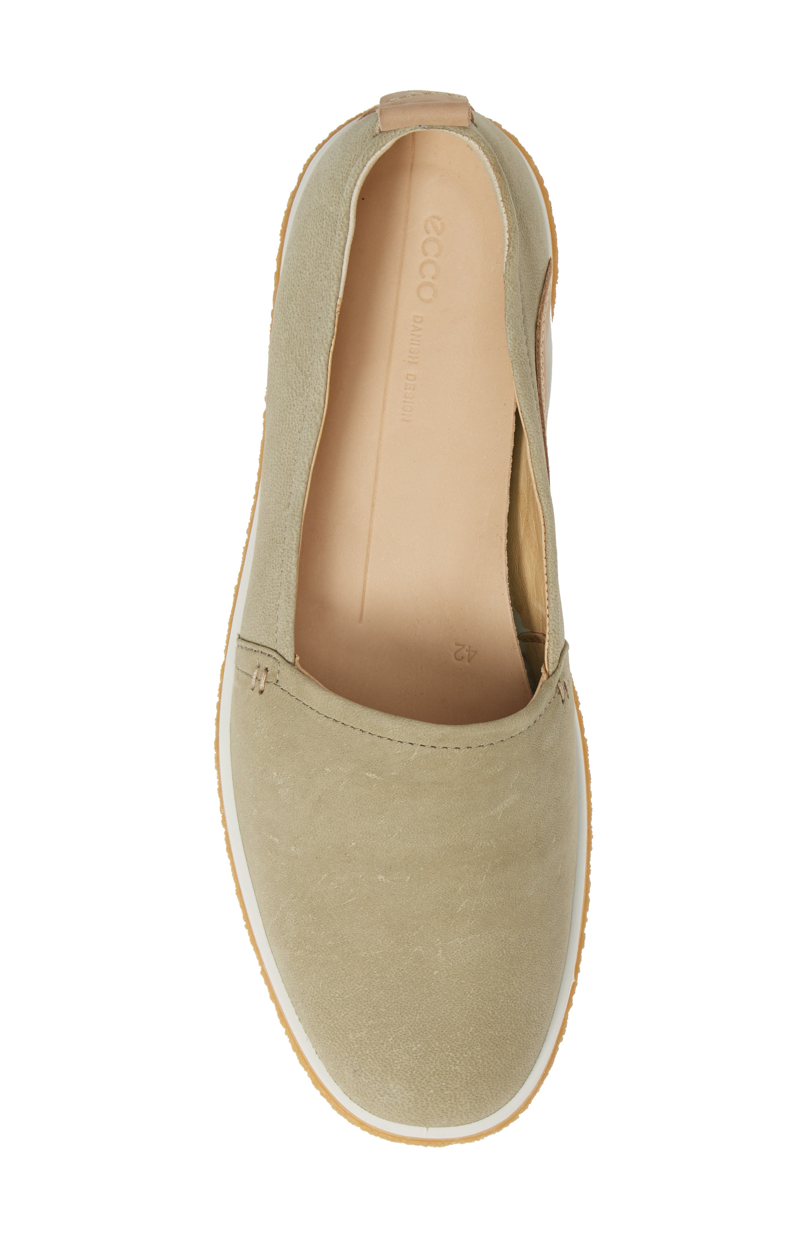 Crepetray Slip-On,                             Alternate thumbnail 5, color,                             SAGE LEATHER