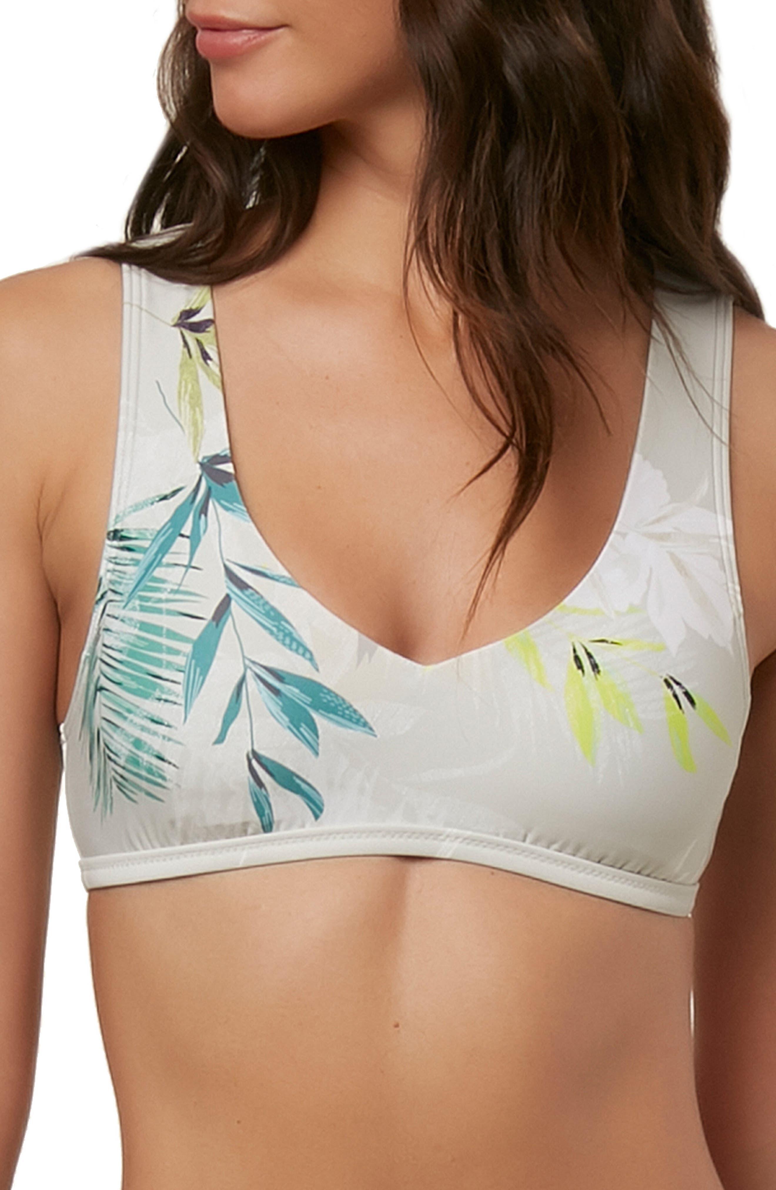 Collins 365 Hybrid Bikini Top,                             Main thumbnail 1, color,                             GREY MULTI