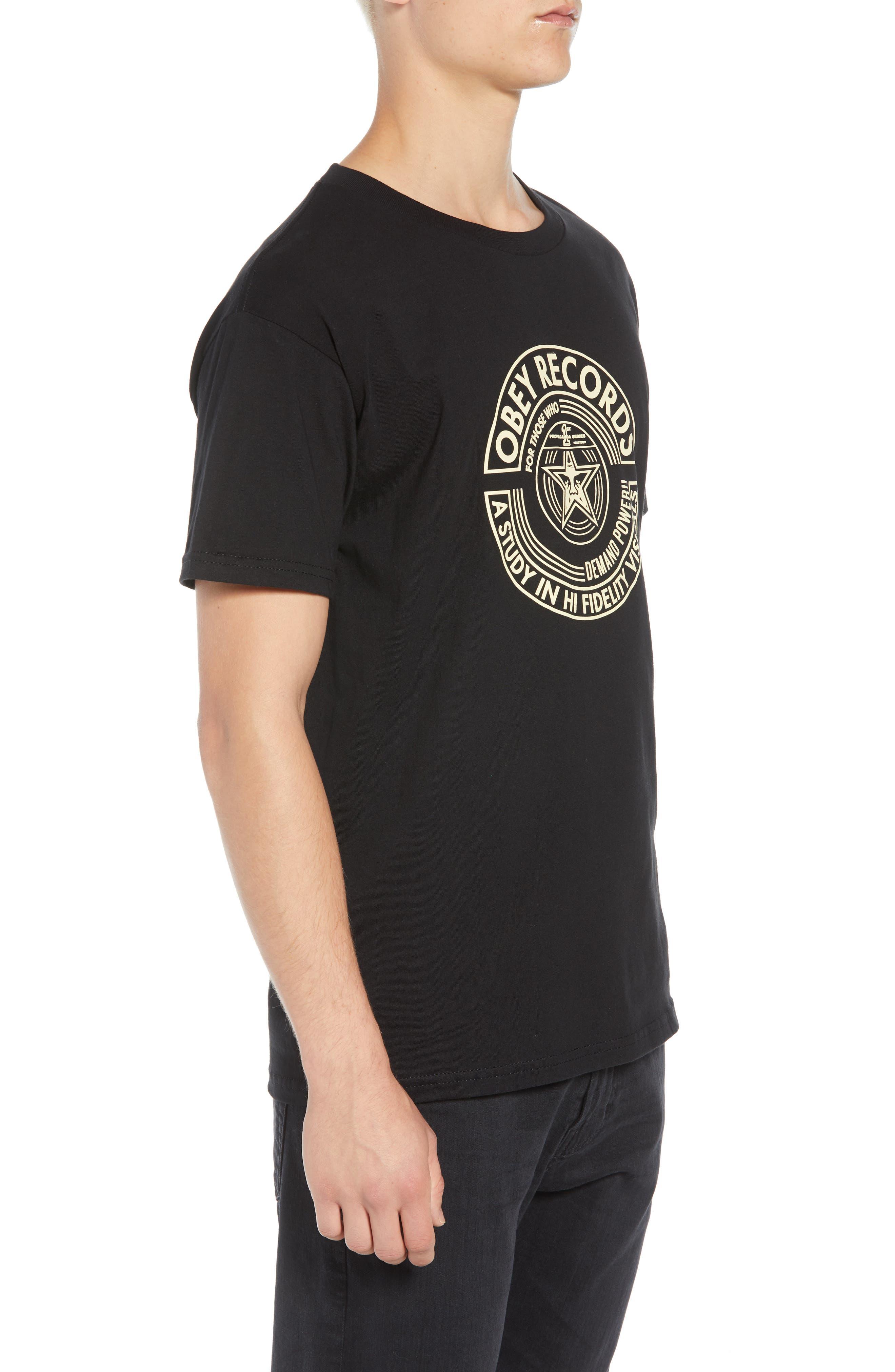 Visual Fidelity Premium T-Shirt,                             Alternate thumbnail 3, color,                             BLACK