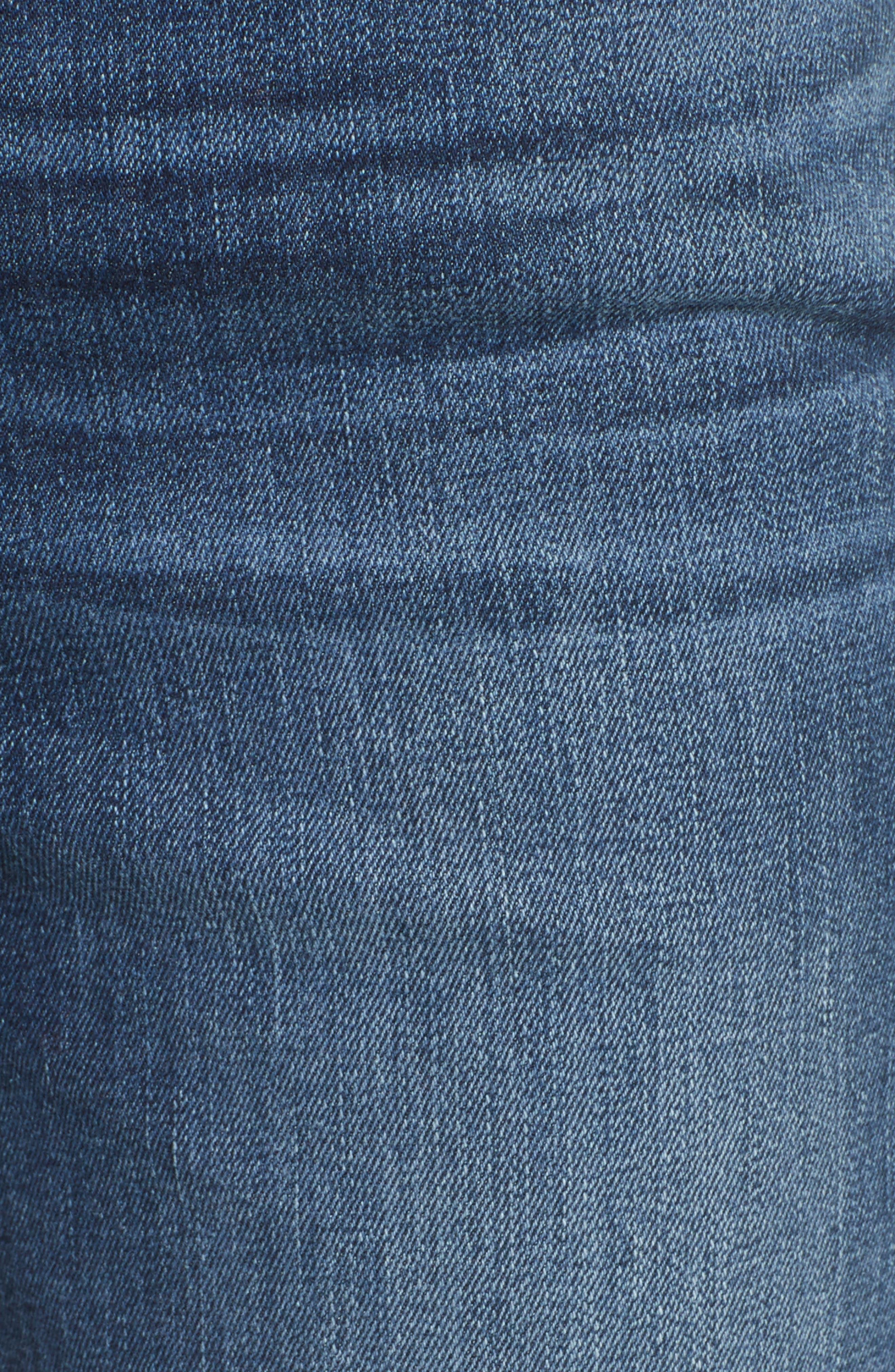 Le High Ankle Straight Leg Jeans,                             Alternate thumbnail 5, color,                             420