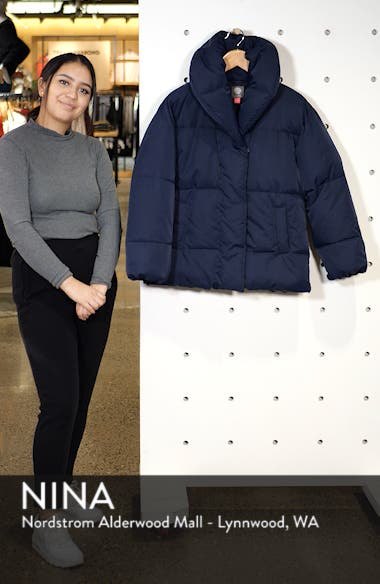 Matte Quilted Puffer Jacket, sales video thumbnail