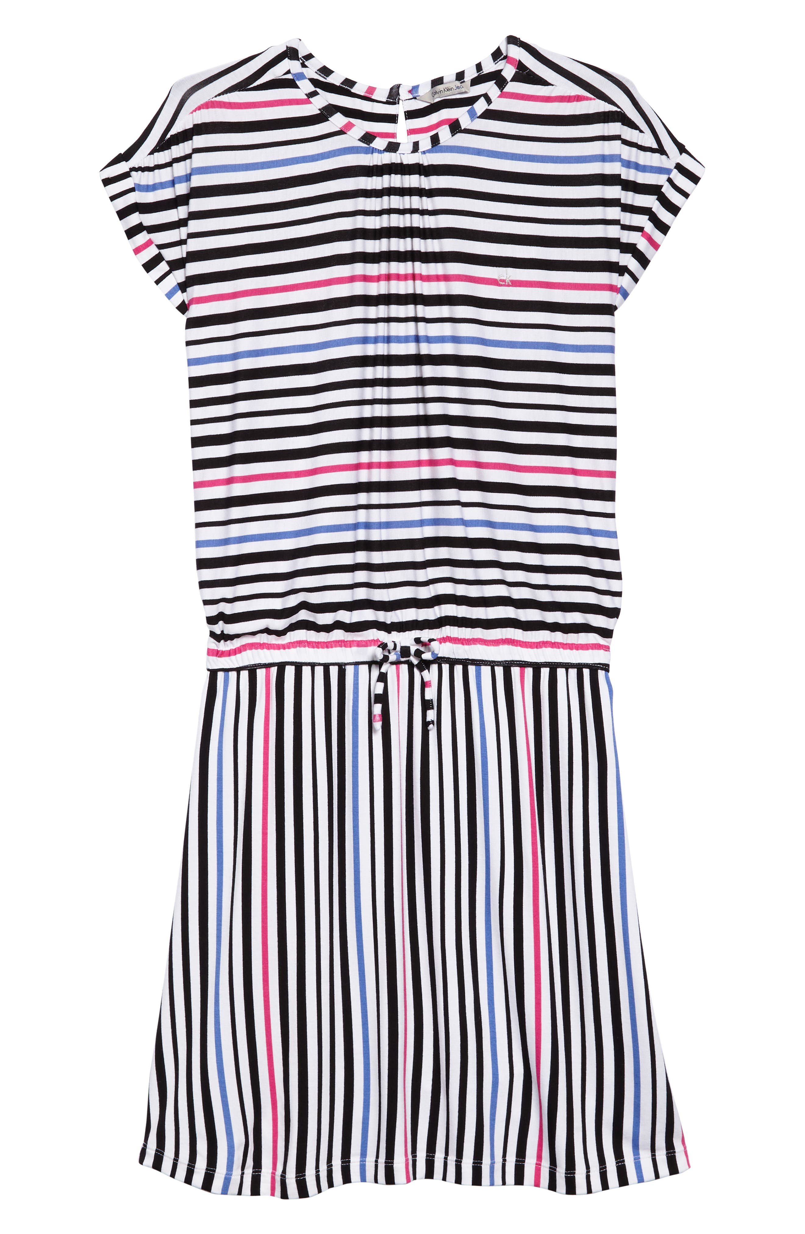 Stripe Dress,                             Main thumbnail 1, color,                             100