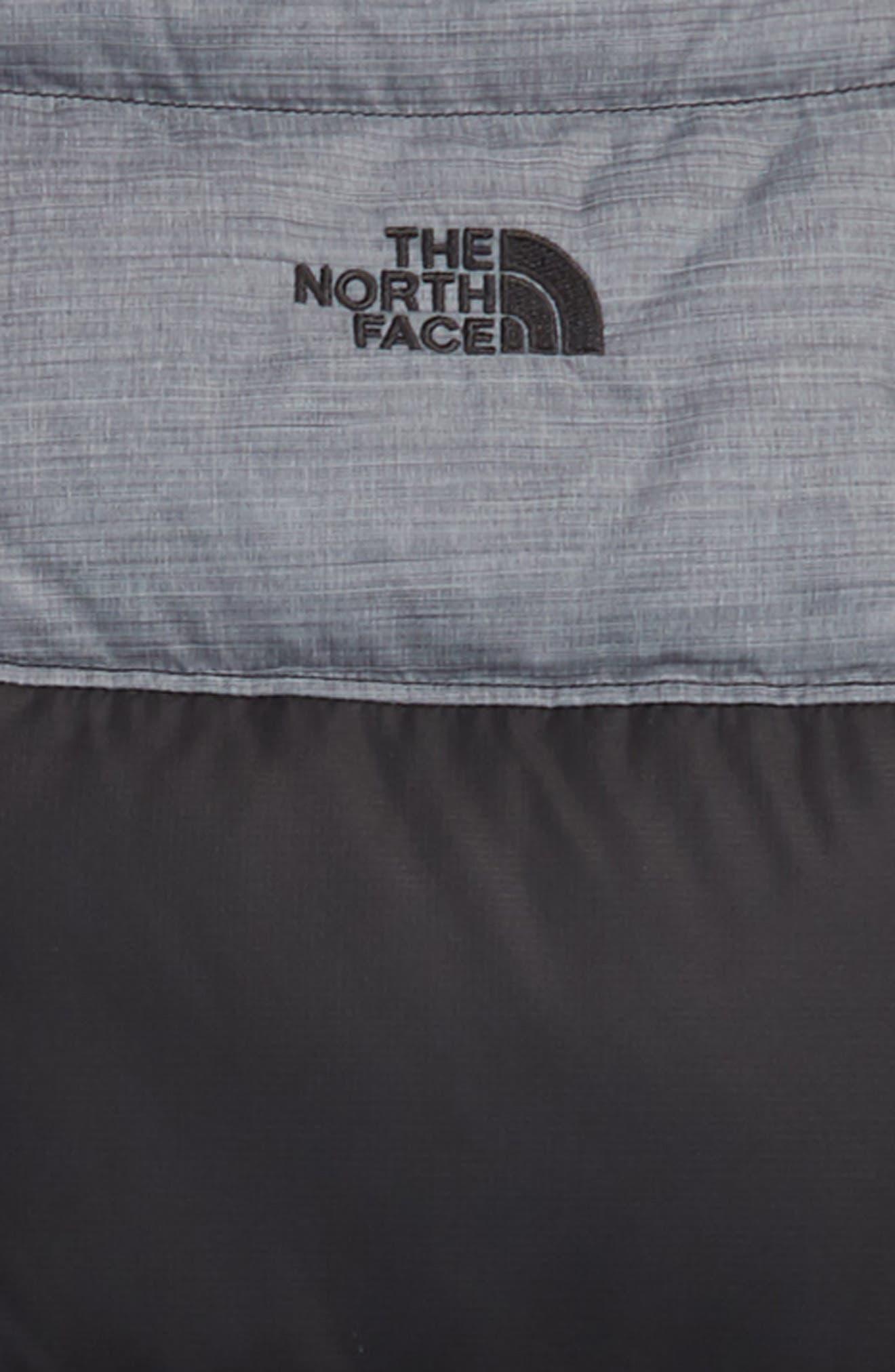 'Moondoggy' Water Repellent Reversible Down Jacket,                             Alternate thumbnail 3, color,                             BLACK/ GRAPHITE GREY