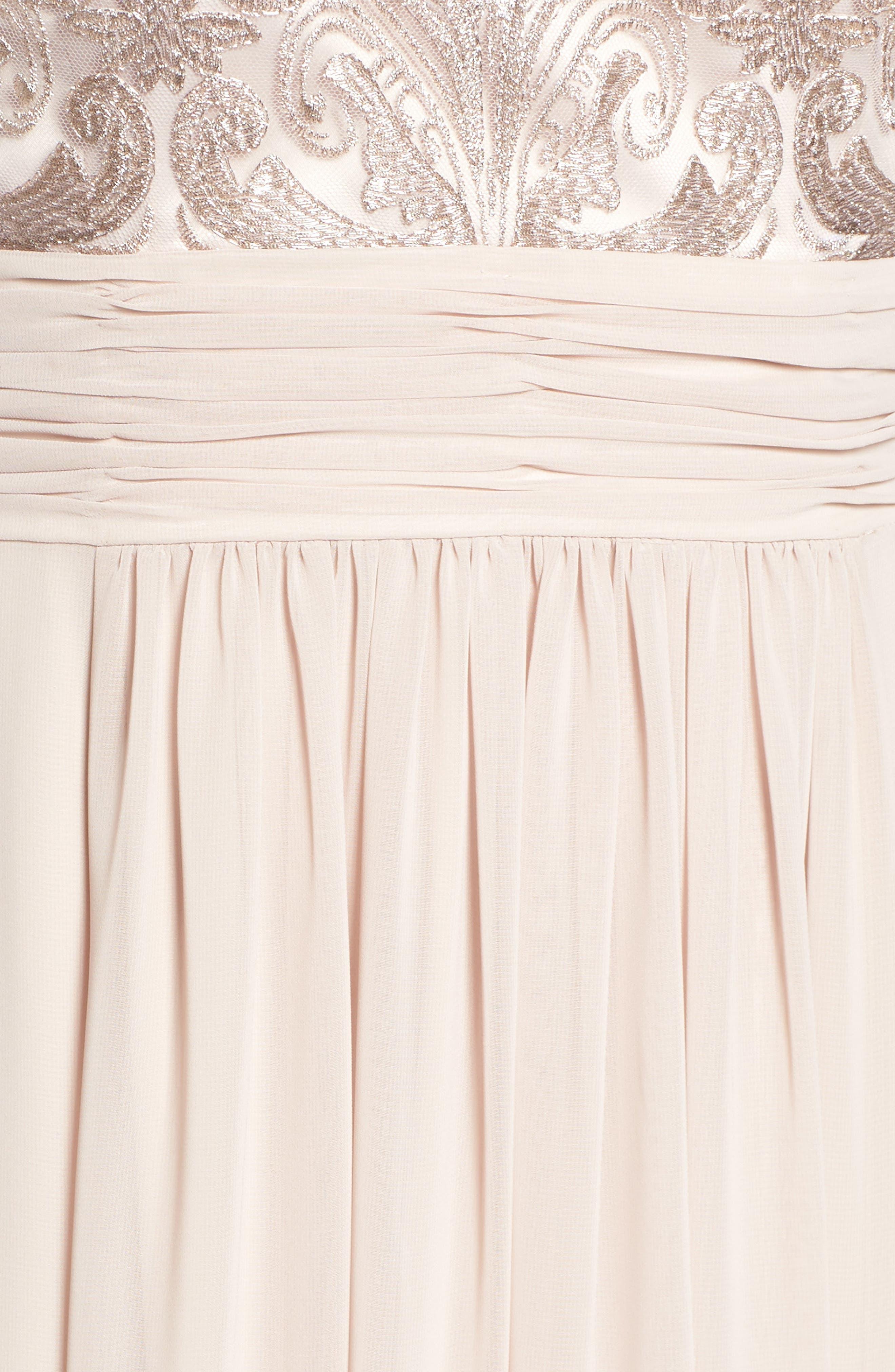 Lace Bodice Gown,                             Alternate thumbnail 23, color,