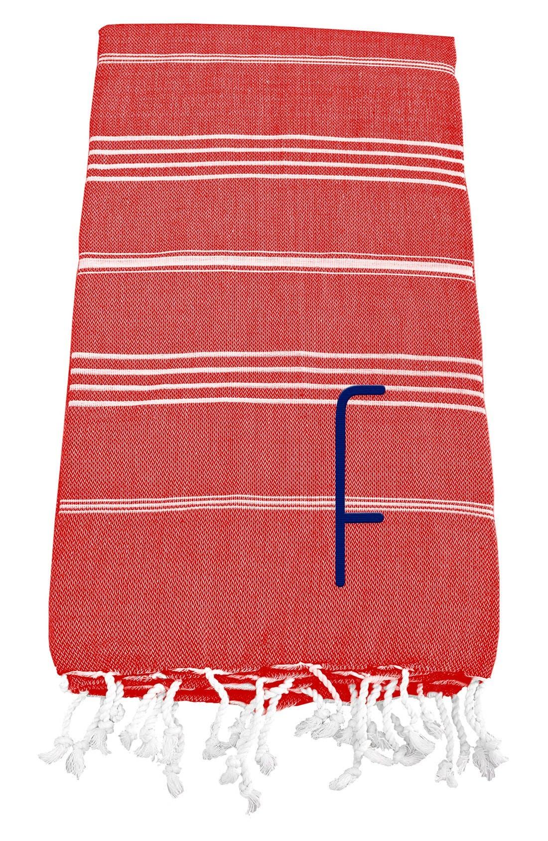 Monogram Turkish Cotton Towel,                             Main thumbnail 115, color,