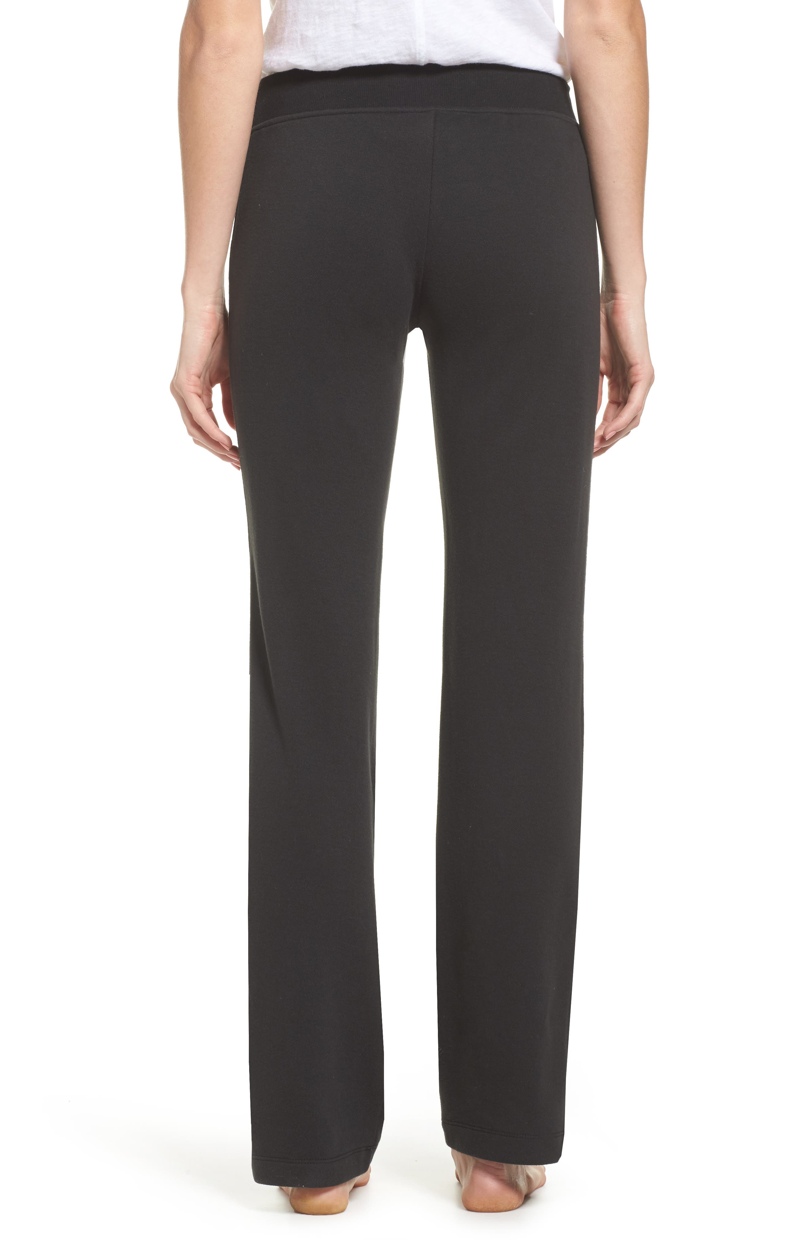 Penny Lounge Pants,                             Alternate thumbnail 2, color,                             BLACK