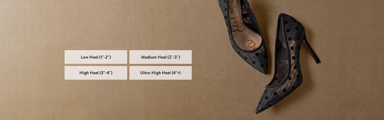 Women's heels in every height.