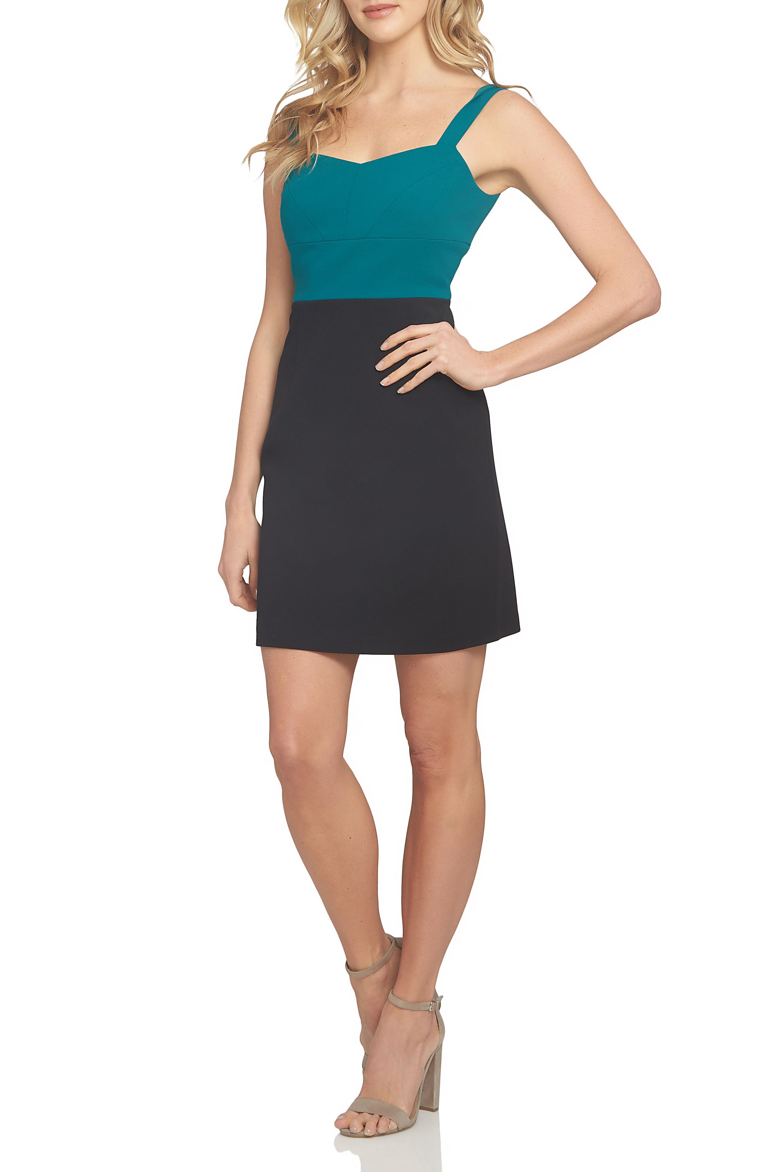 Alexa Sheath Dress,                             Alternate thumbnail 3, color,                             003