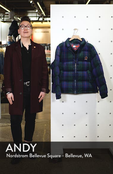 TJW Plaid Puffer Jacket, sales video thumbnail