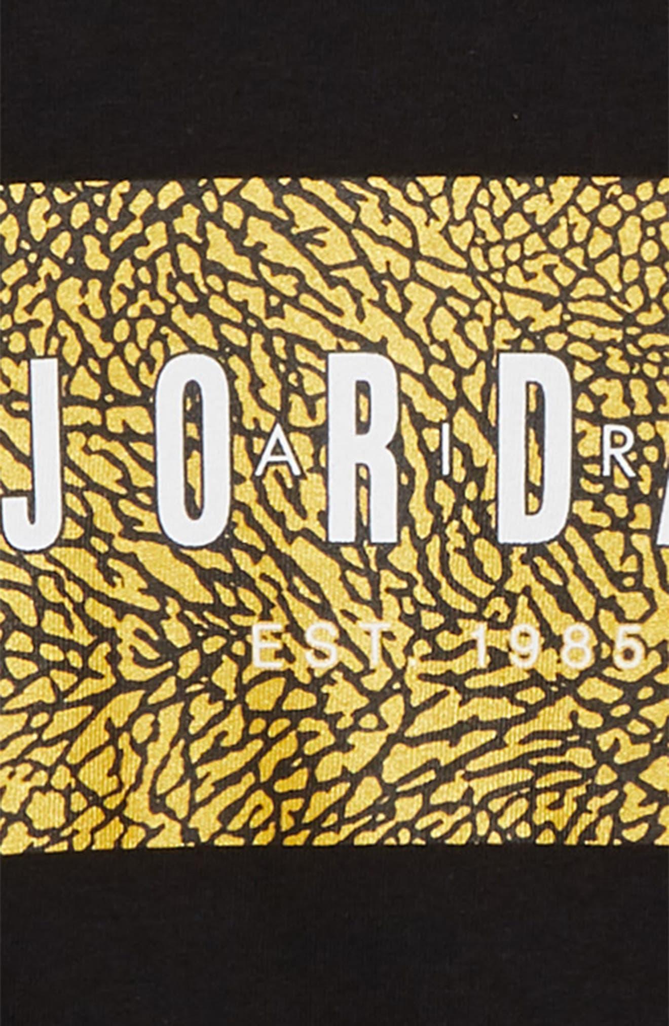 Logo Box T-Shirt,                             Alternate thumbnail 2, color,                             BLACK