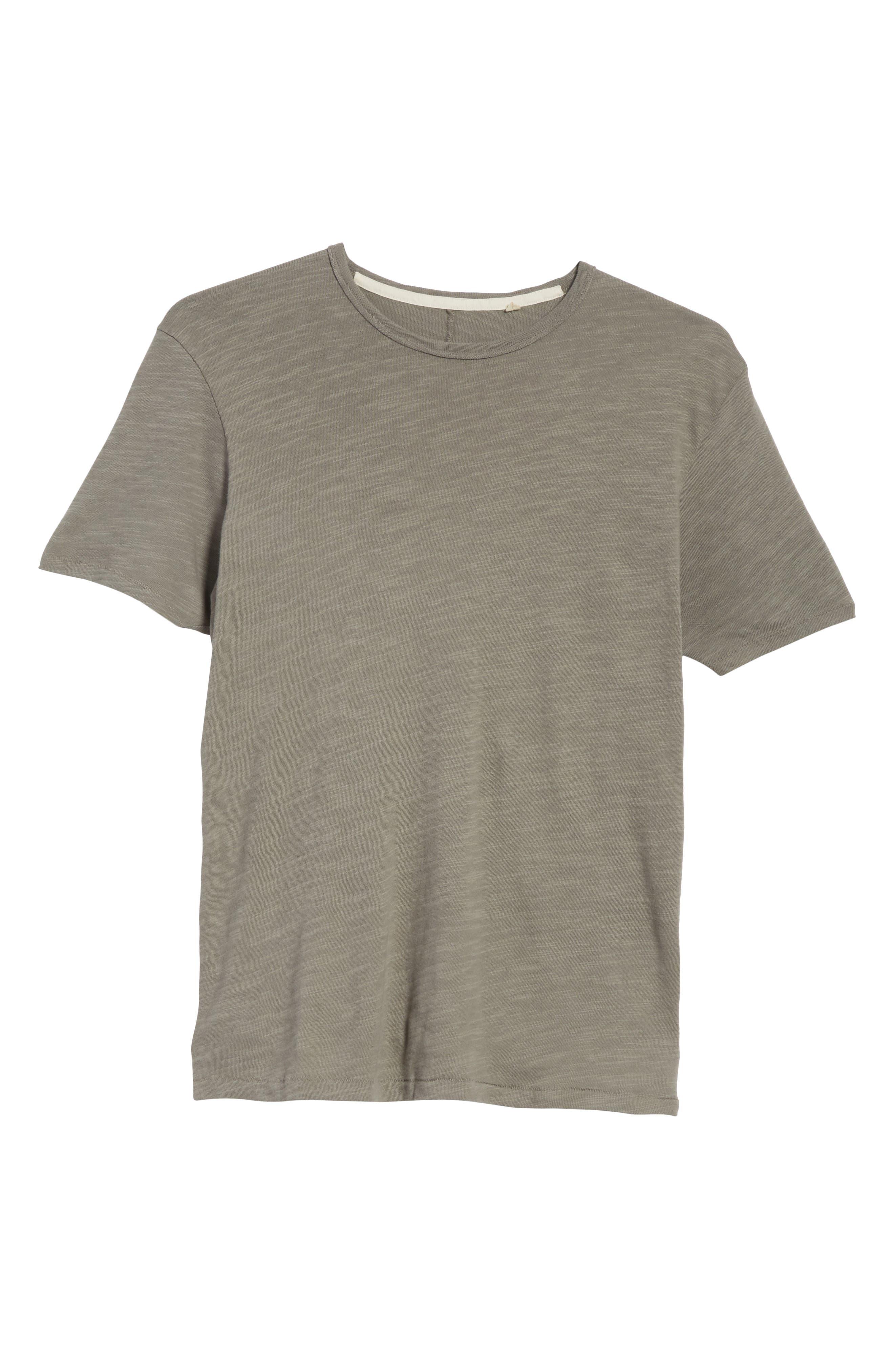 Standard Issue Slubbed Cotton T-Shirt,                             Alternate thumbnail 6, color,                             010