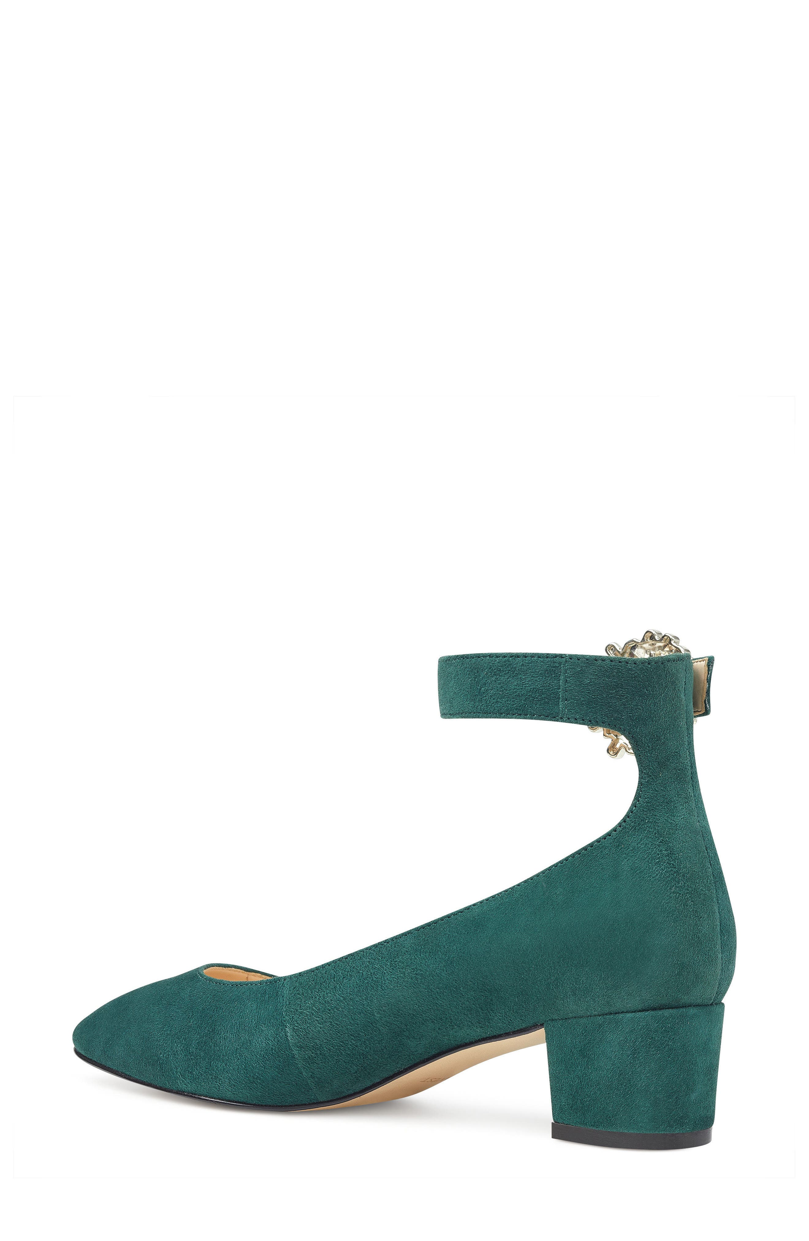 Bartly Ankle Strap Pump,                             Alternate thumbnail 6, color,