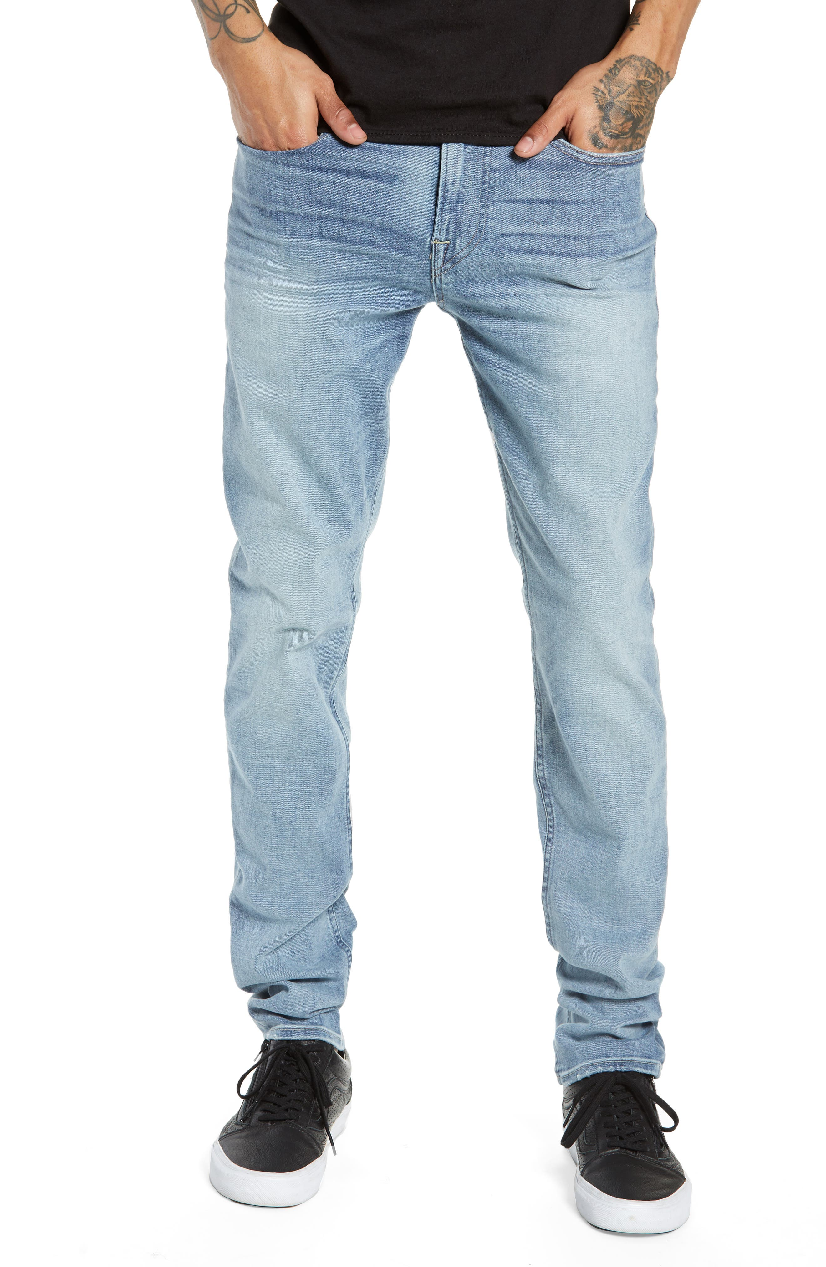 Axl Skinny Jeans, Main, color, ROSEWEL