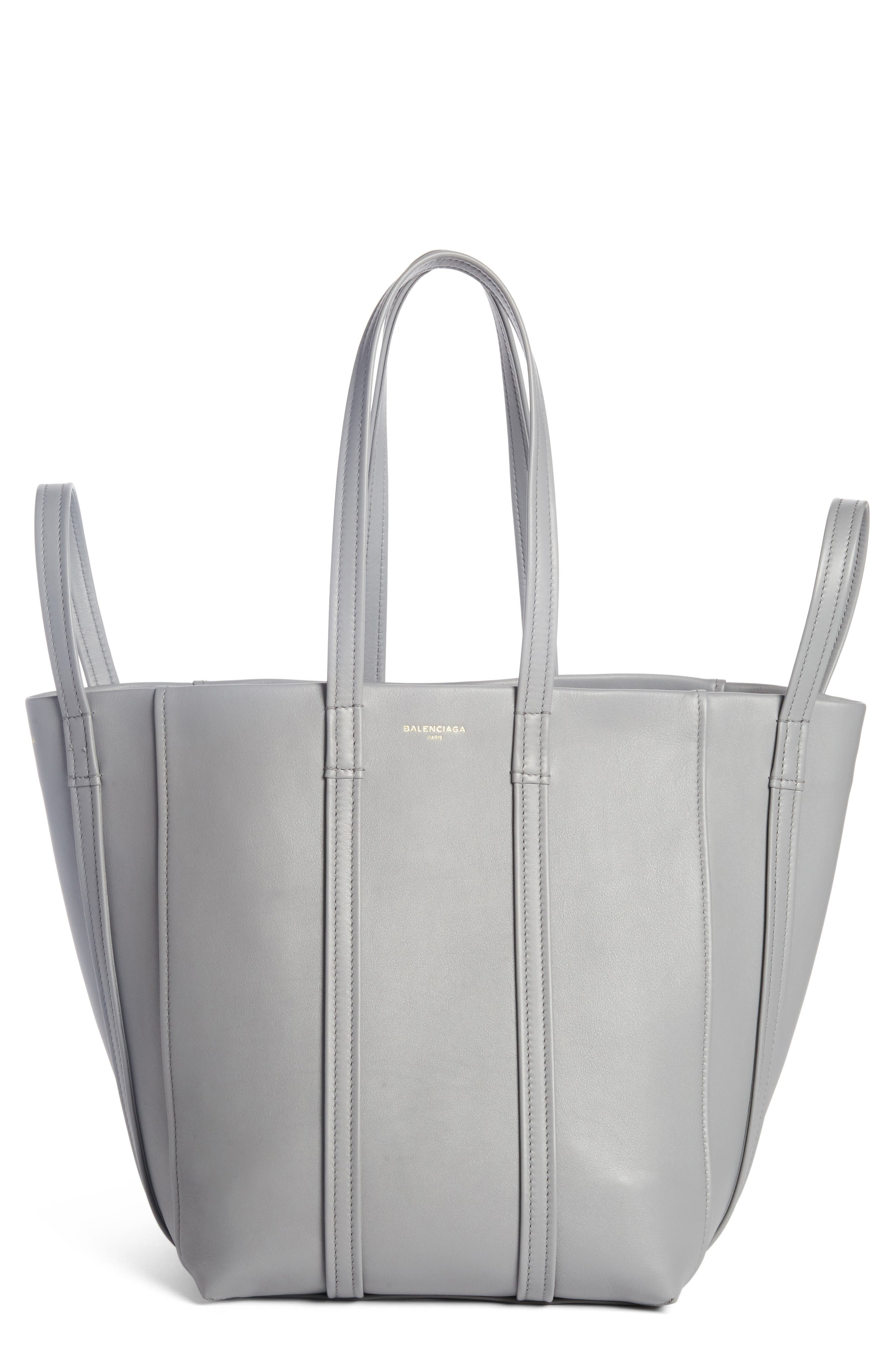 Large Laundry Cabas Calfskin Tote,                         Main,                         color, 022