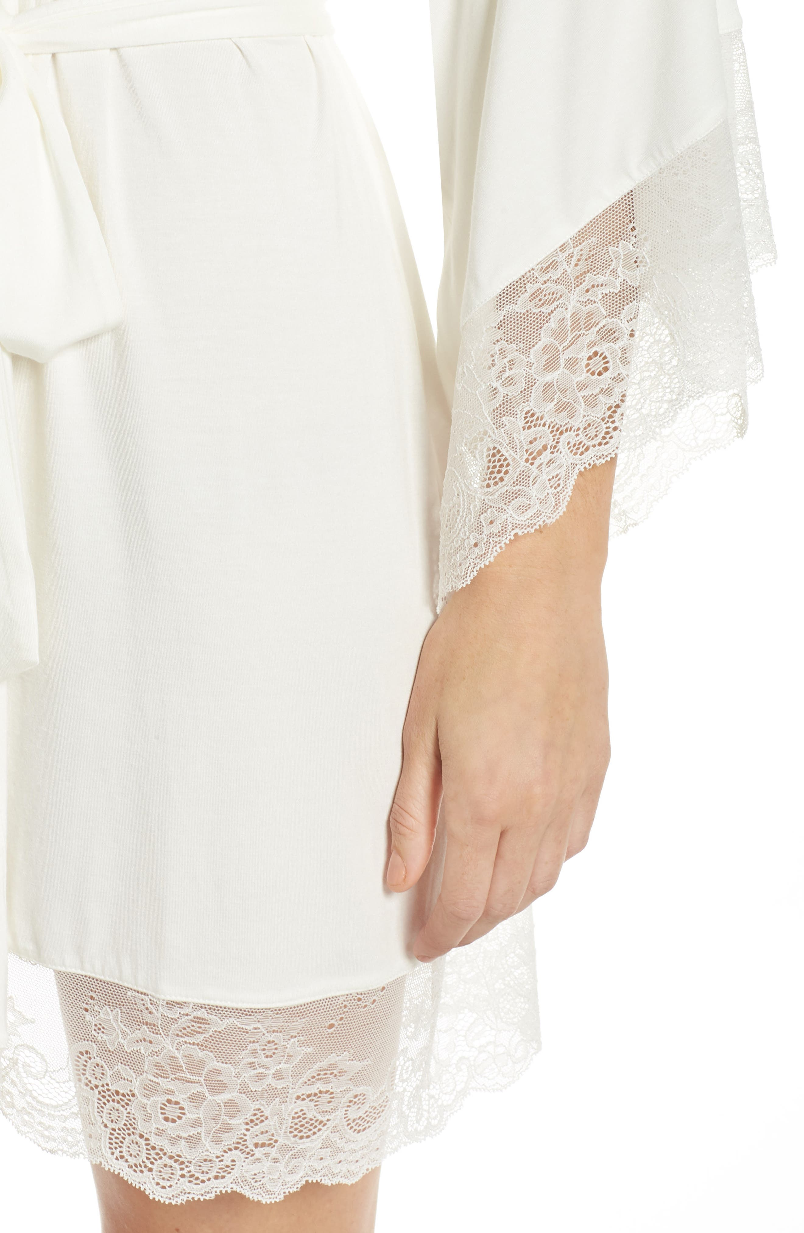 Serafina Kimono Robe,                             Alternate thumbnail 4, color,