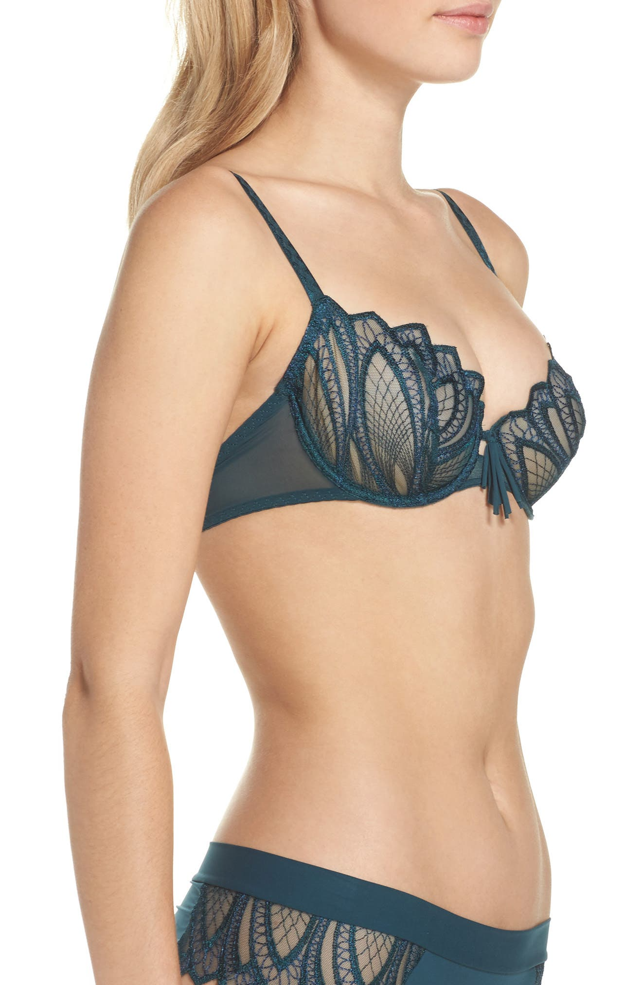 Corolle Underwire Demi Bra,                             Alternate thumbnail 5, color,