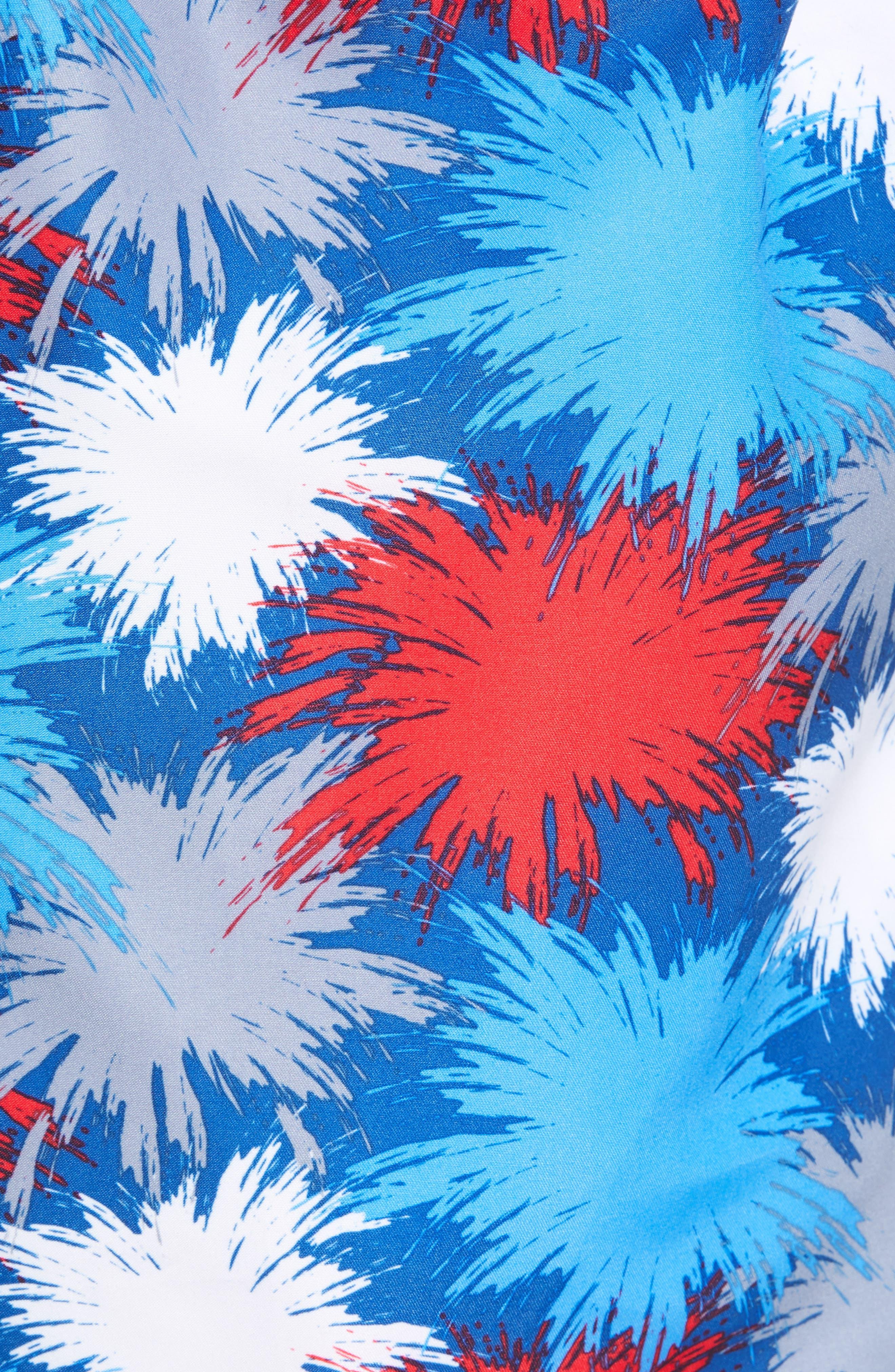 Fireworks Swim Trunks,                             Alternate thumbnail 5, color,                             425