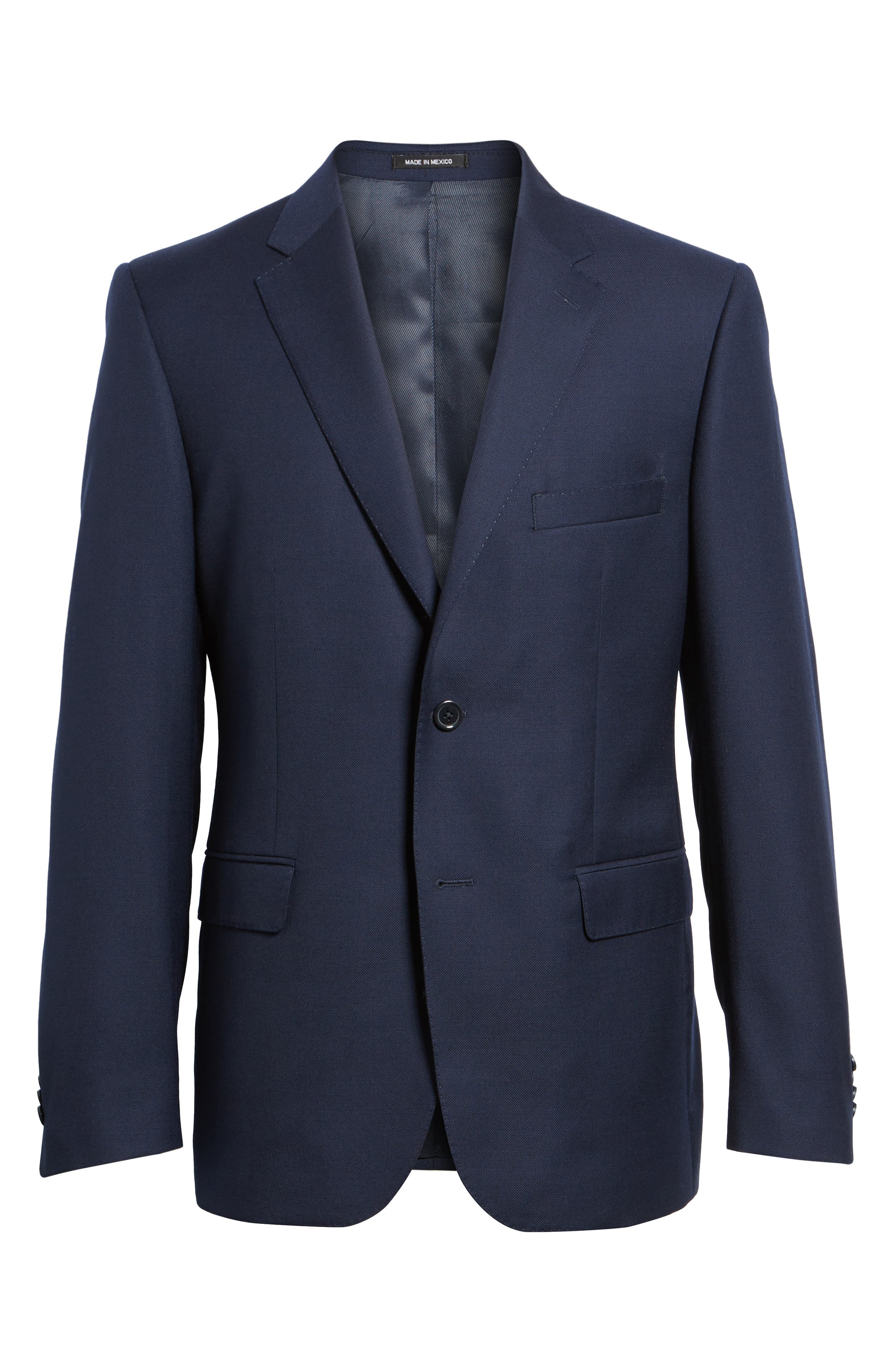 Classic Fit Solid Wool Sport Coat,                             Alternate thumbnail 5, color,                             410