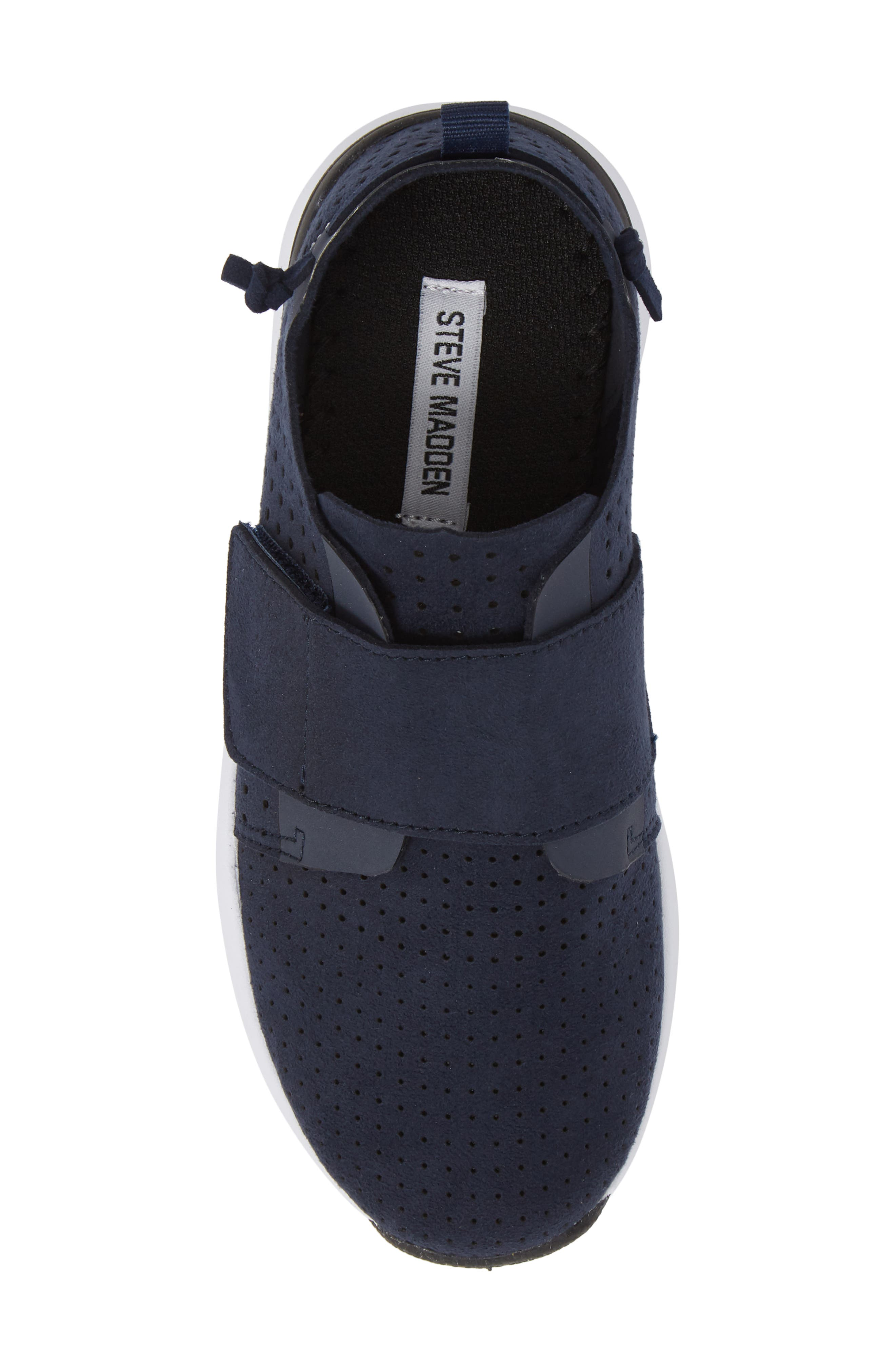 Brixxnv Perforated Sneaker,                             Alternate thumbnail 5, color,                             NAVY