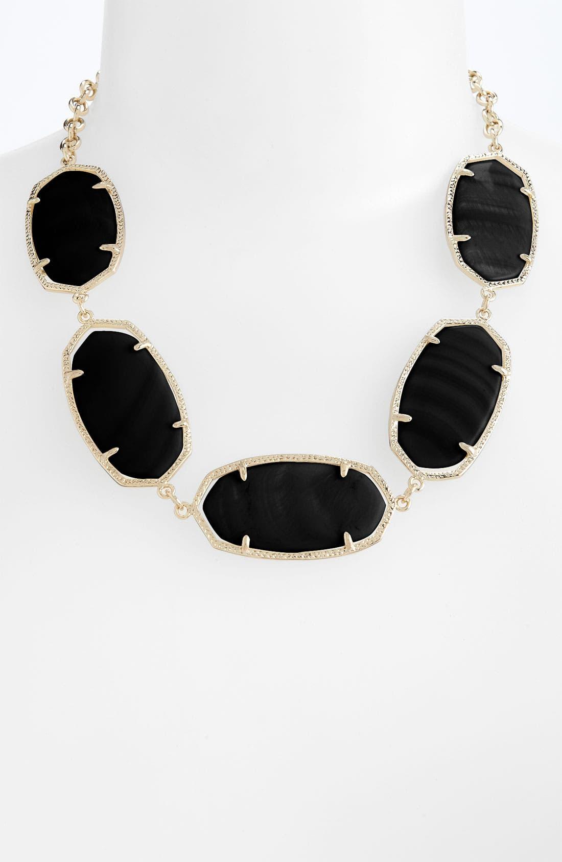 'Valencia' Stone Collar Statement Necklace,                         Main,                         color, 001