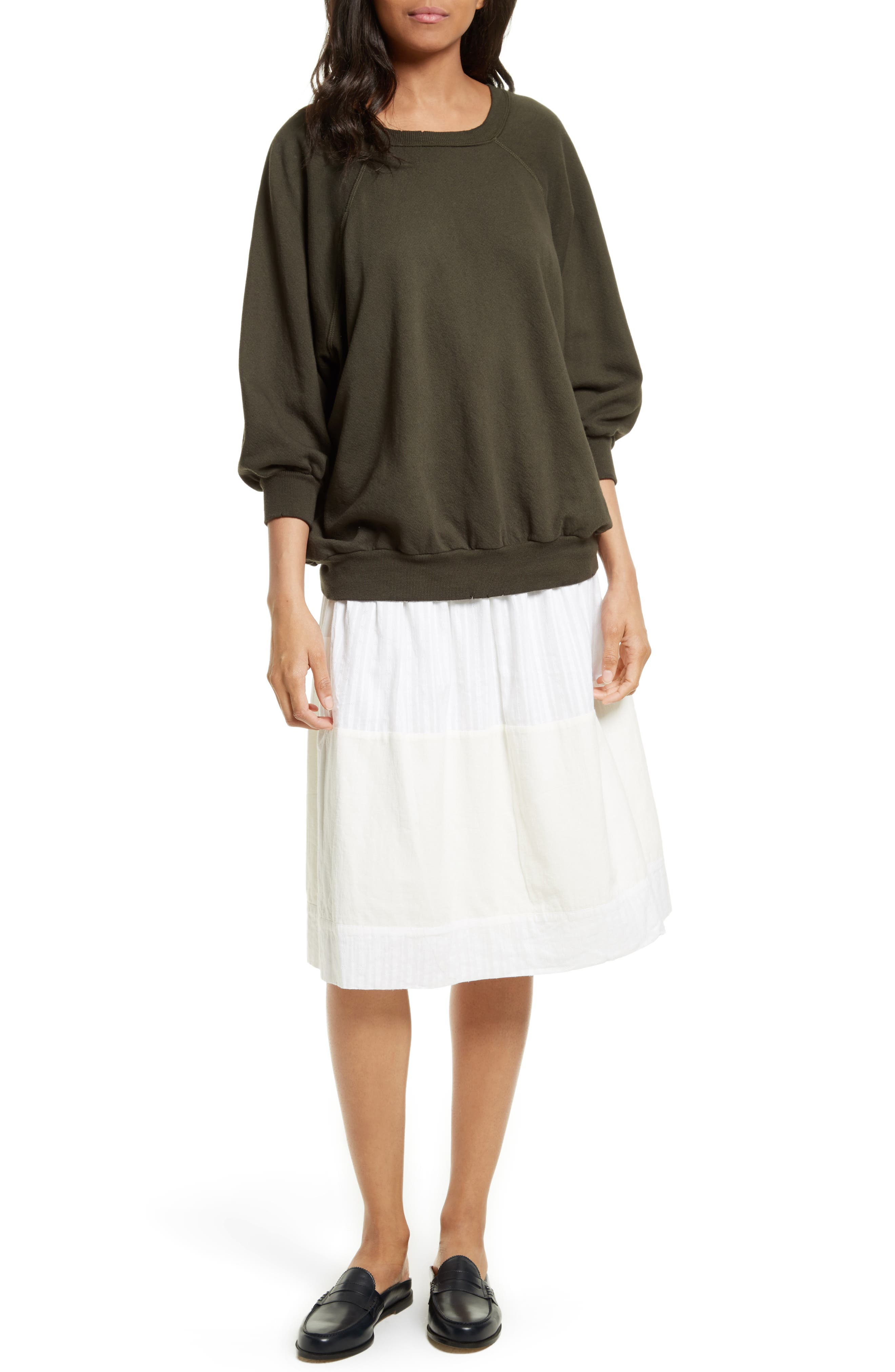 The Afternoon Skirt,                             Alternate thumbnail 6, color,