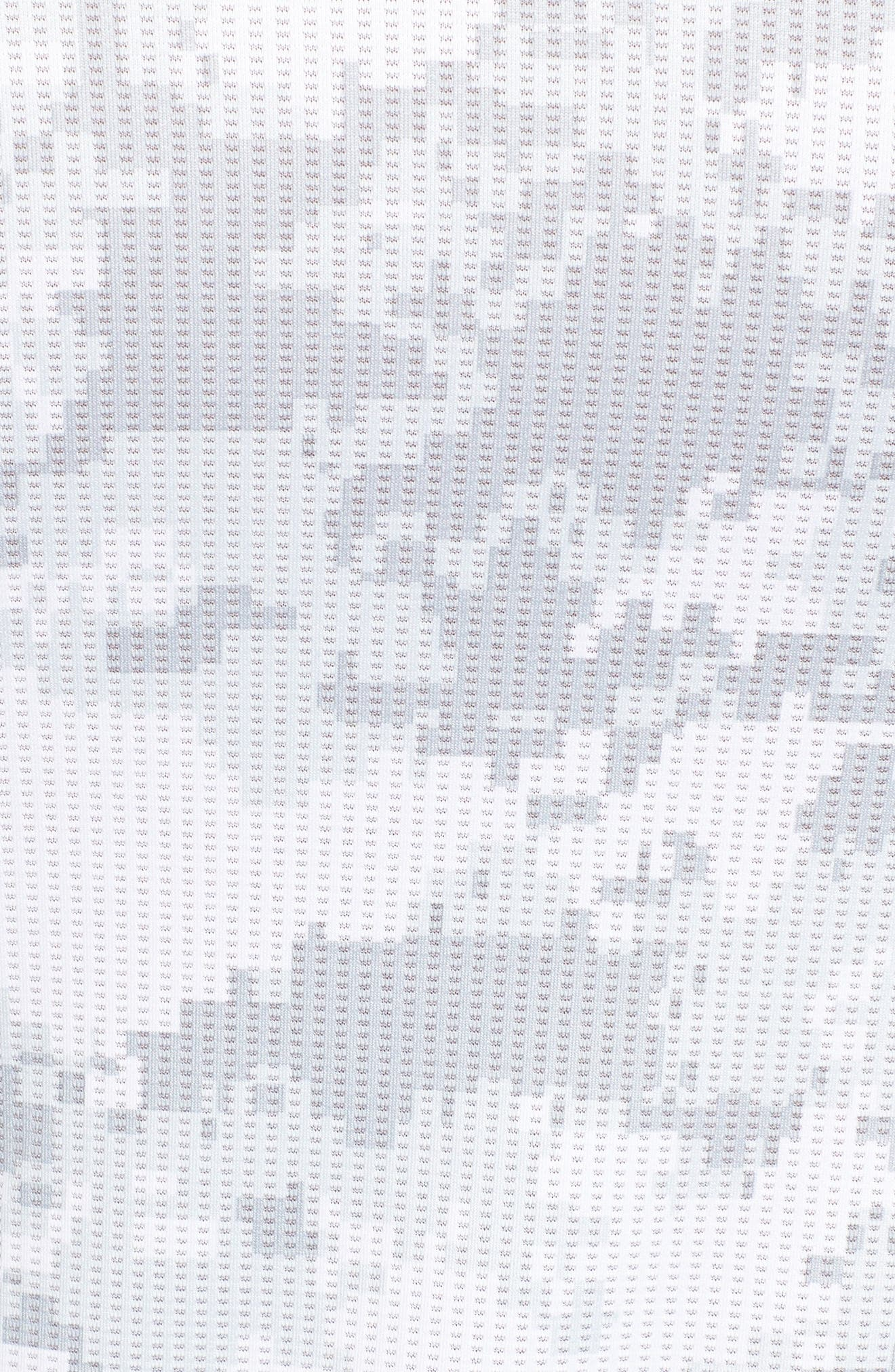 Pro Hypercool Seamless T-Shirt,                             Alternate thumbnail 5, color,                             100