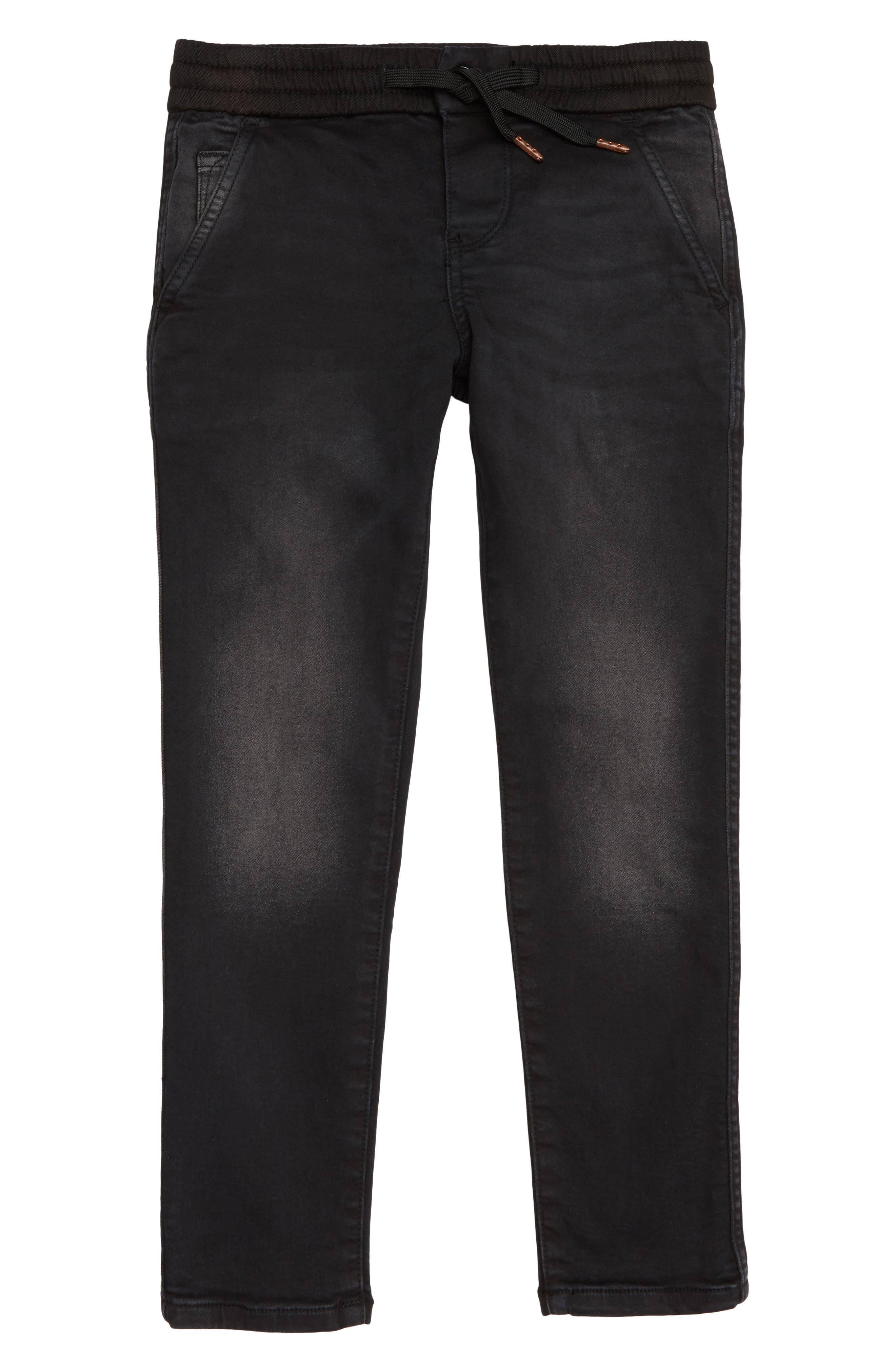 Slim Pull-On Pants,                             Main thumbnail 1, color,                             001