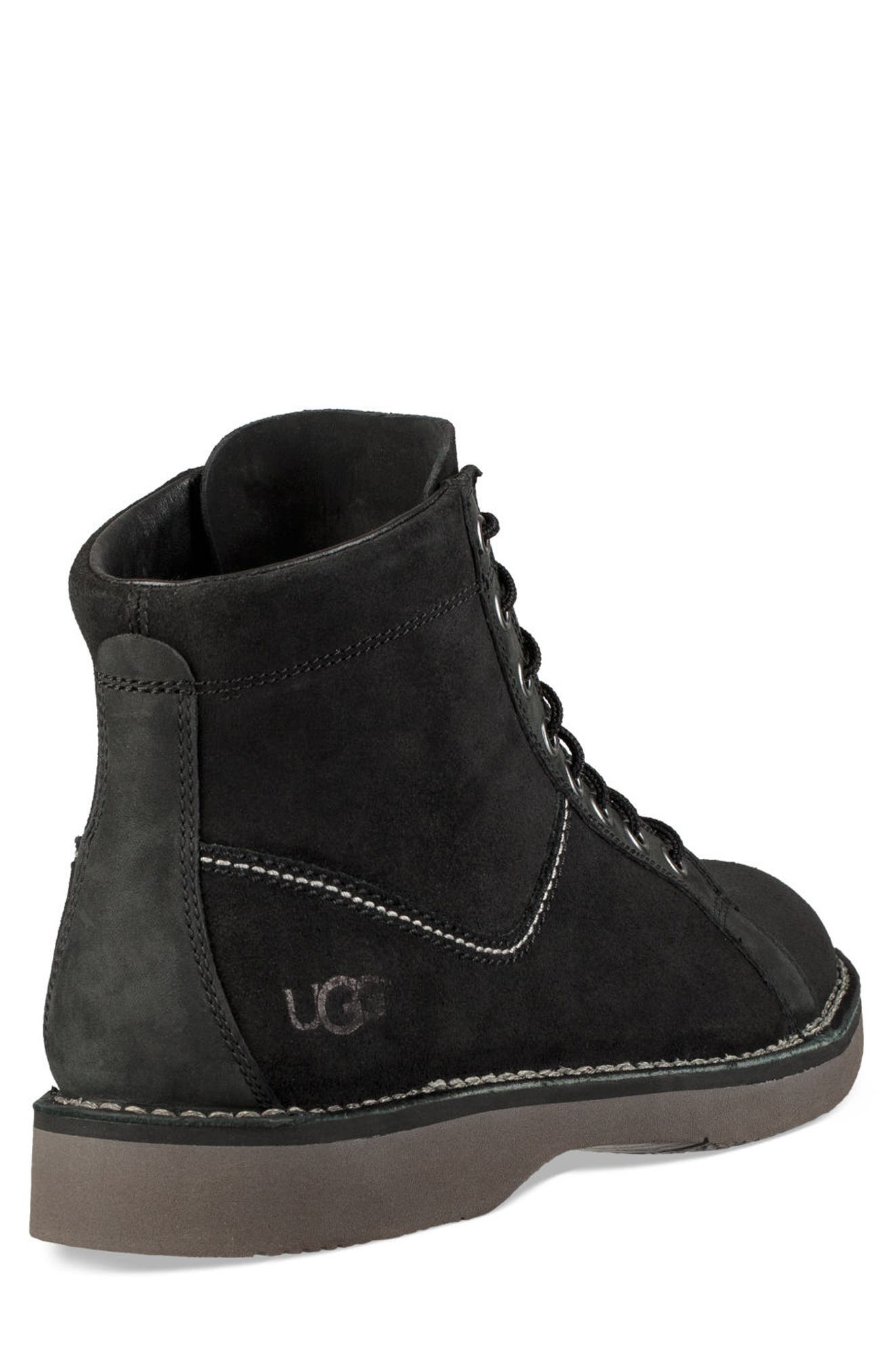 Camino Plain Toe Boot,                             Alternate thumbnail 2, color,                             BLACK