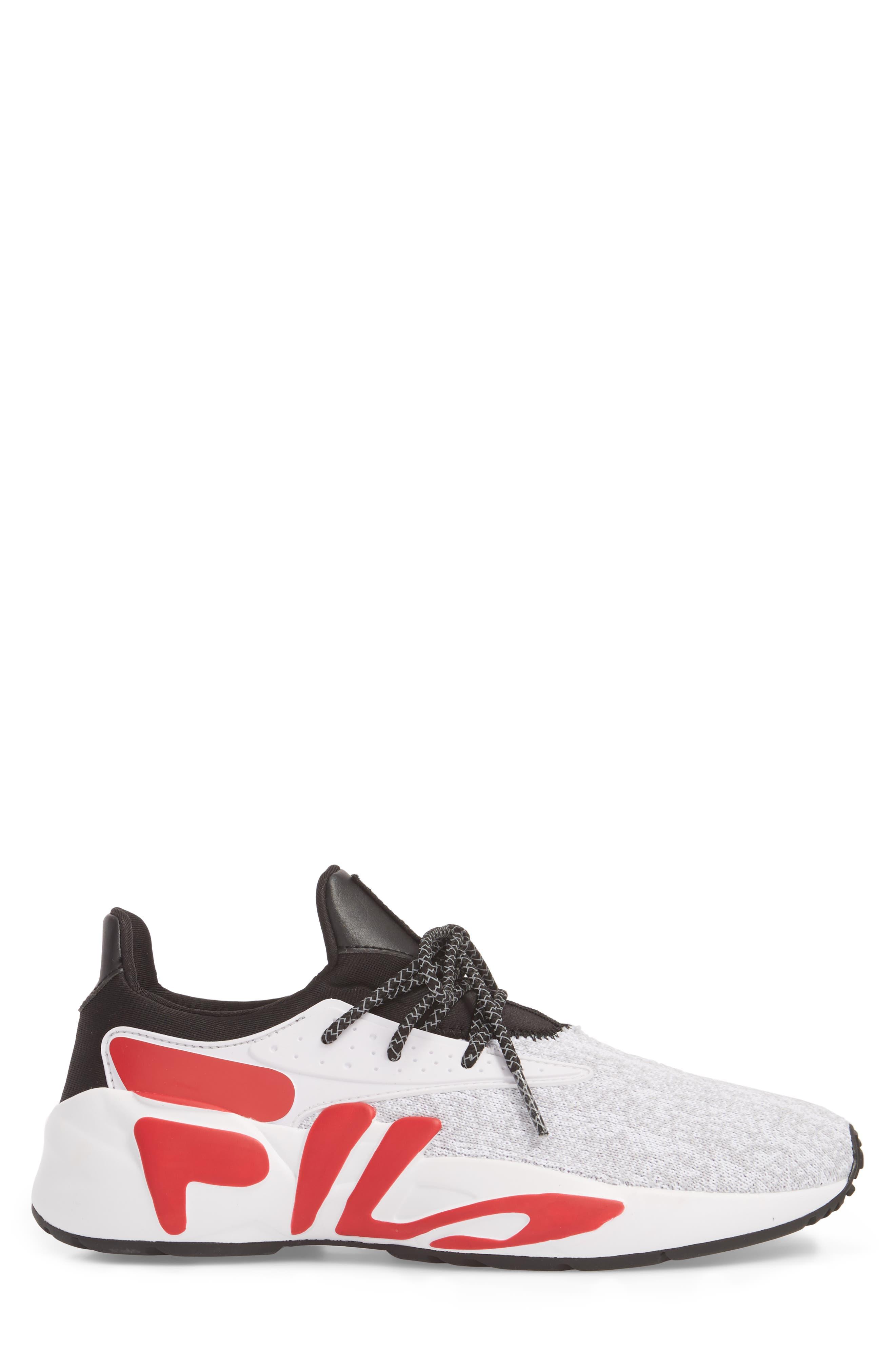 Mindbreaker 2.0 Sneaker,                             Alternate thumbnail 3, color,                             BLACK/ WHITE/ RED