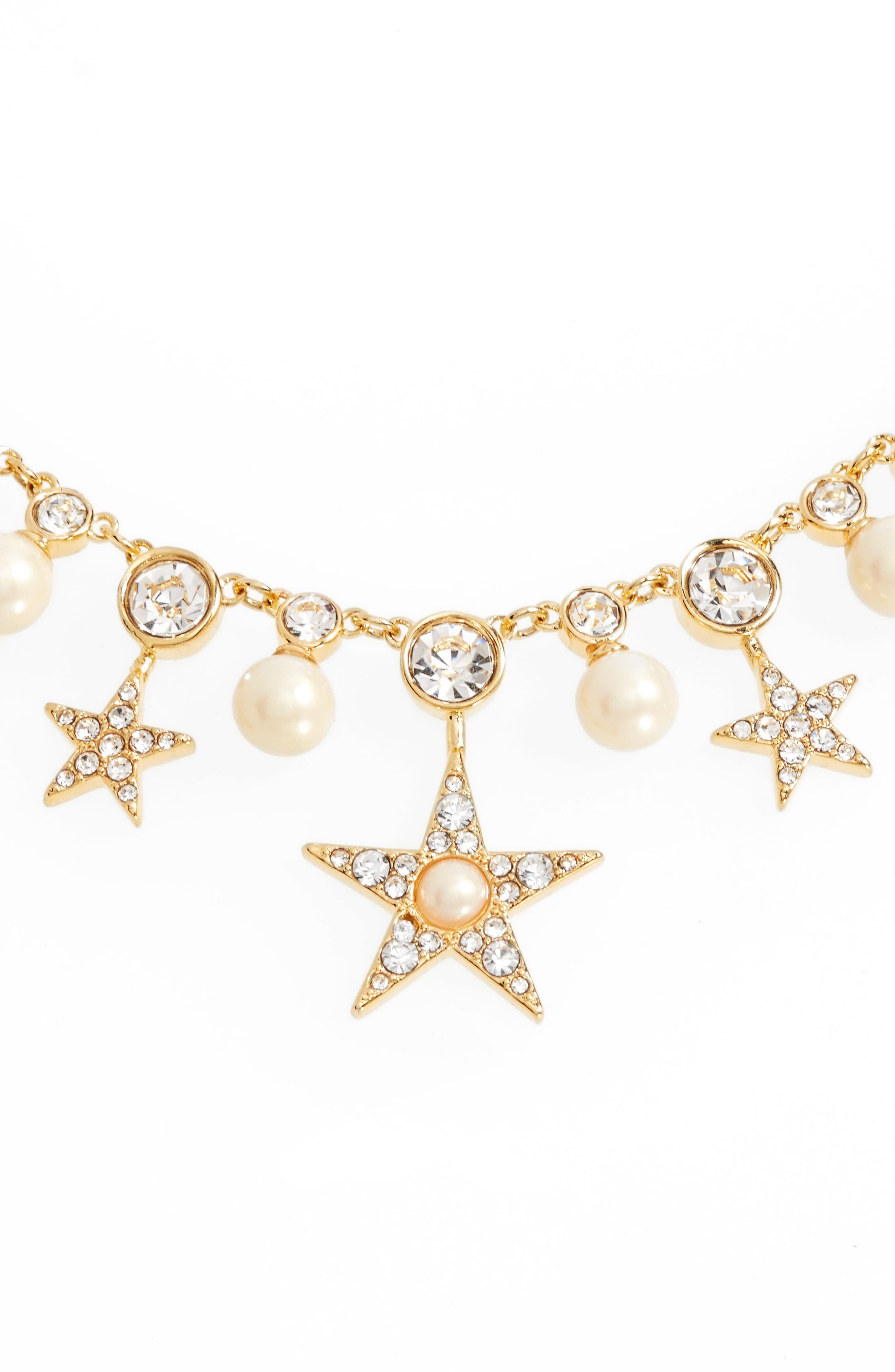 seeing stars collar necklace,                         Main,                         color, 710