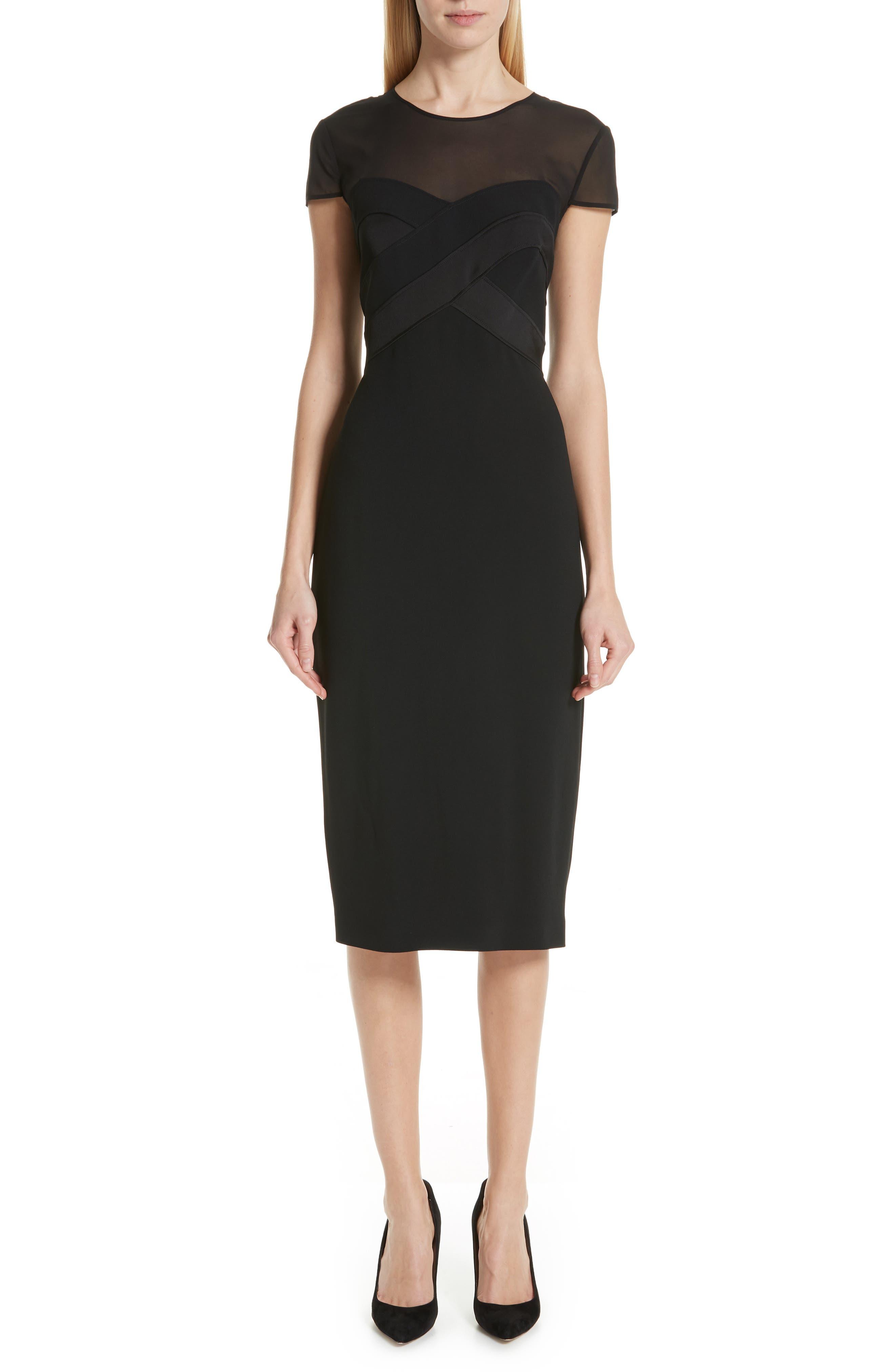 Max Mara Bracco Dress, Black