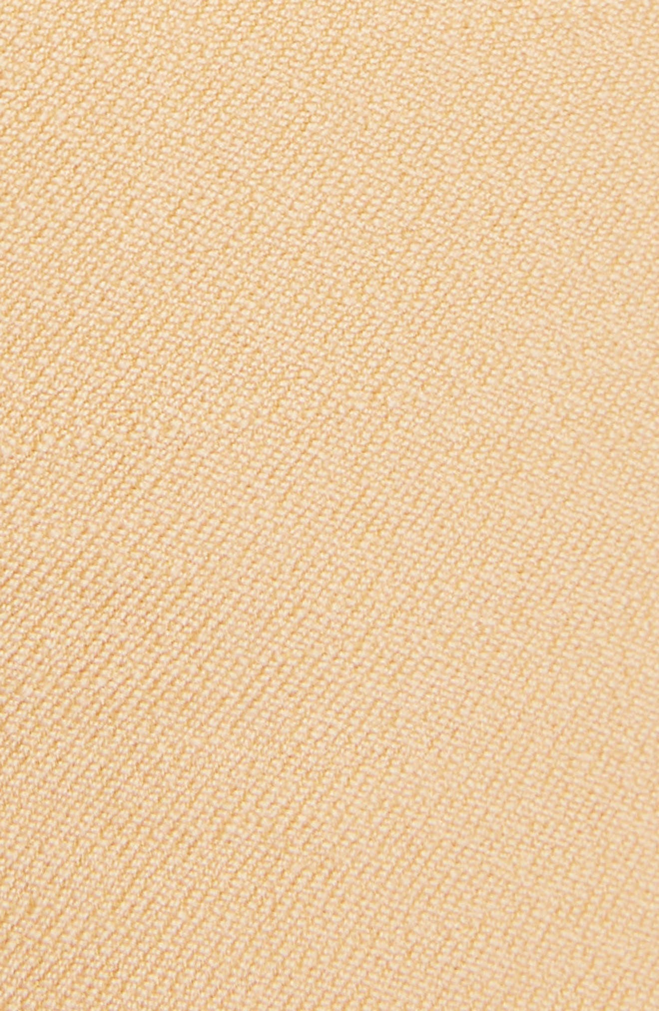 Side Pleat Wool & Silk Blend Shorts,                             Alternate thumbnail 5, color,