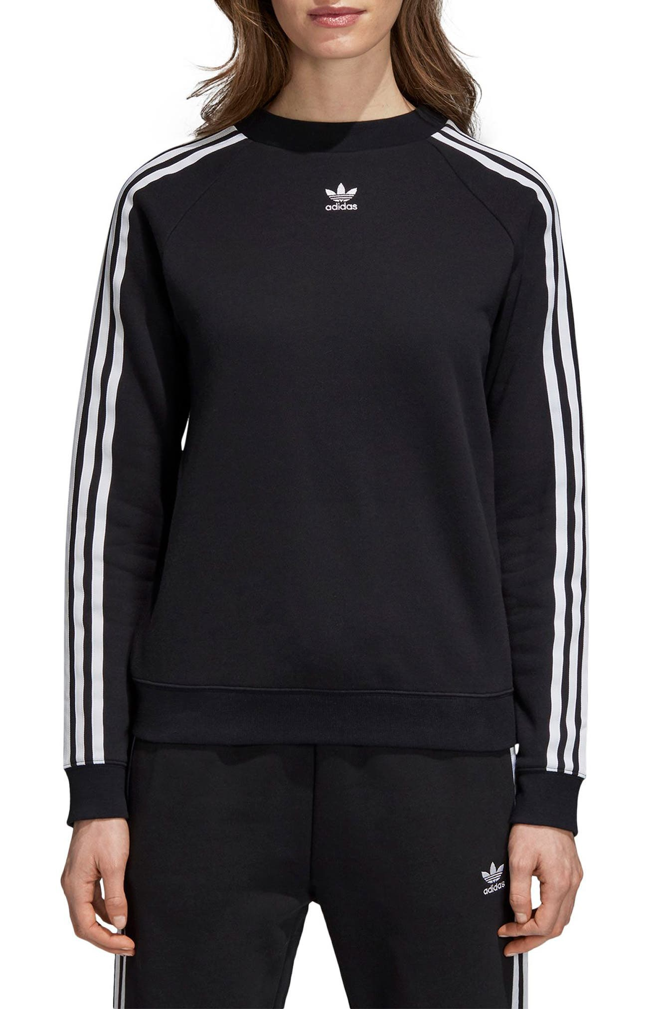 TRF Sweatshirt,                             Main thumbnail 1, color,                             BLACK