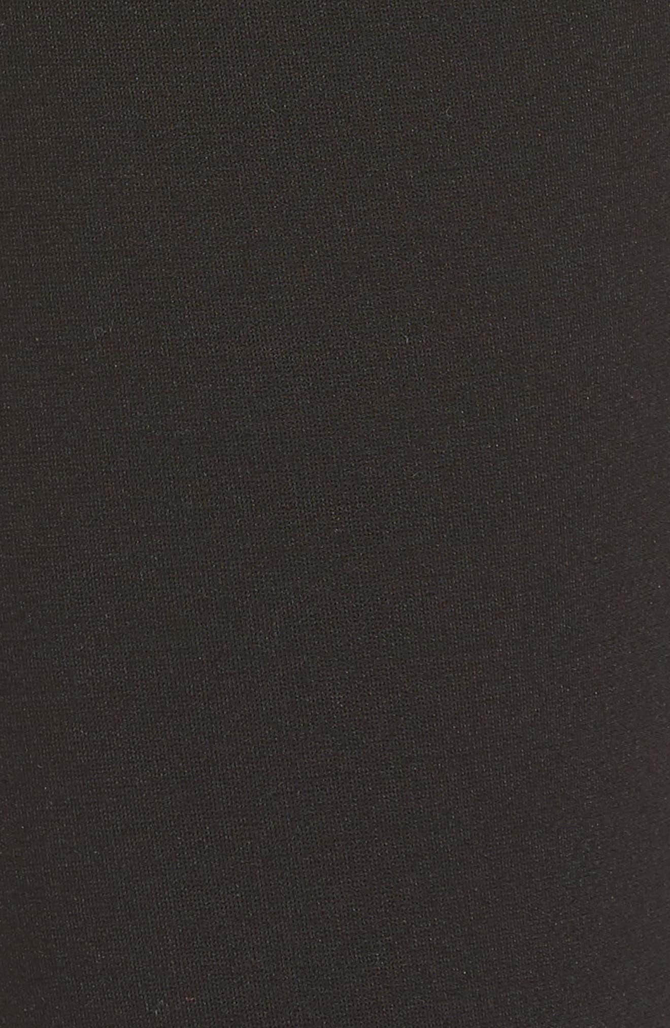 Donna Ponte Knit Skinny Jeans,                             Alternate thumbnail 5, color,                             002
