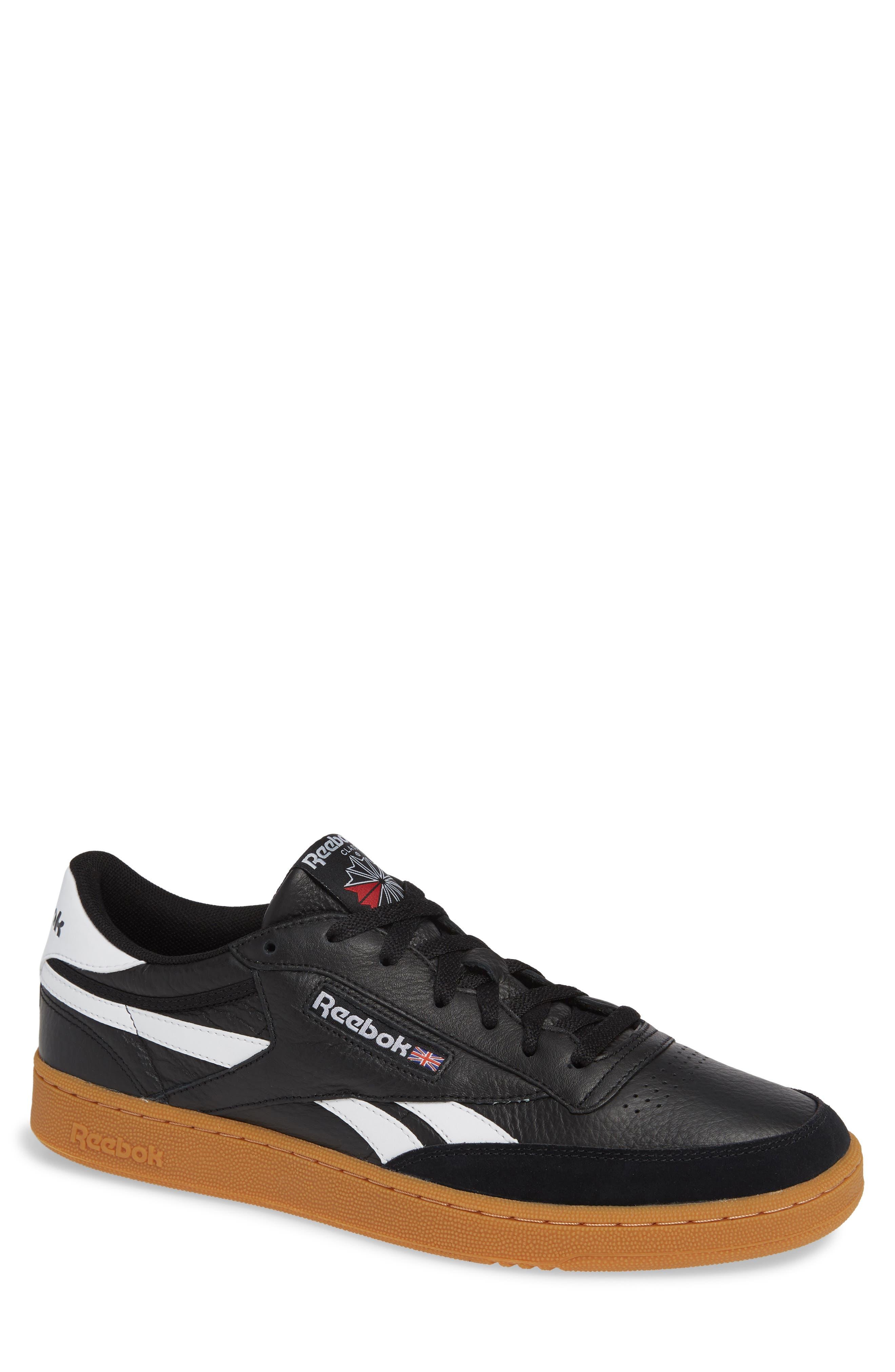 Revenge Plus Sneaker,                         Main,                         color, BLACK/ WHITE/ GUM
