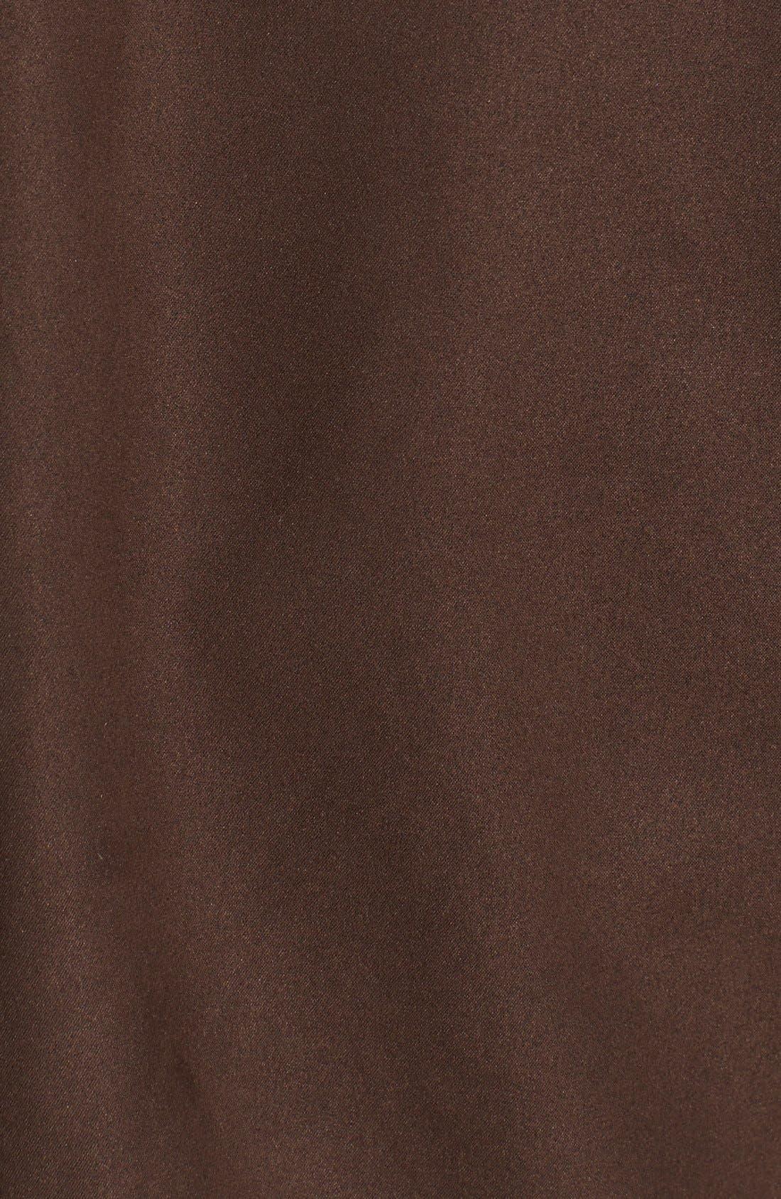 'Roosevelt' Classic Fit Water Resistant Full Zip Jacket,                             Alternate thumbnail 3, color,                             BITTERSWEET BROWN