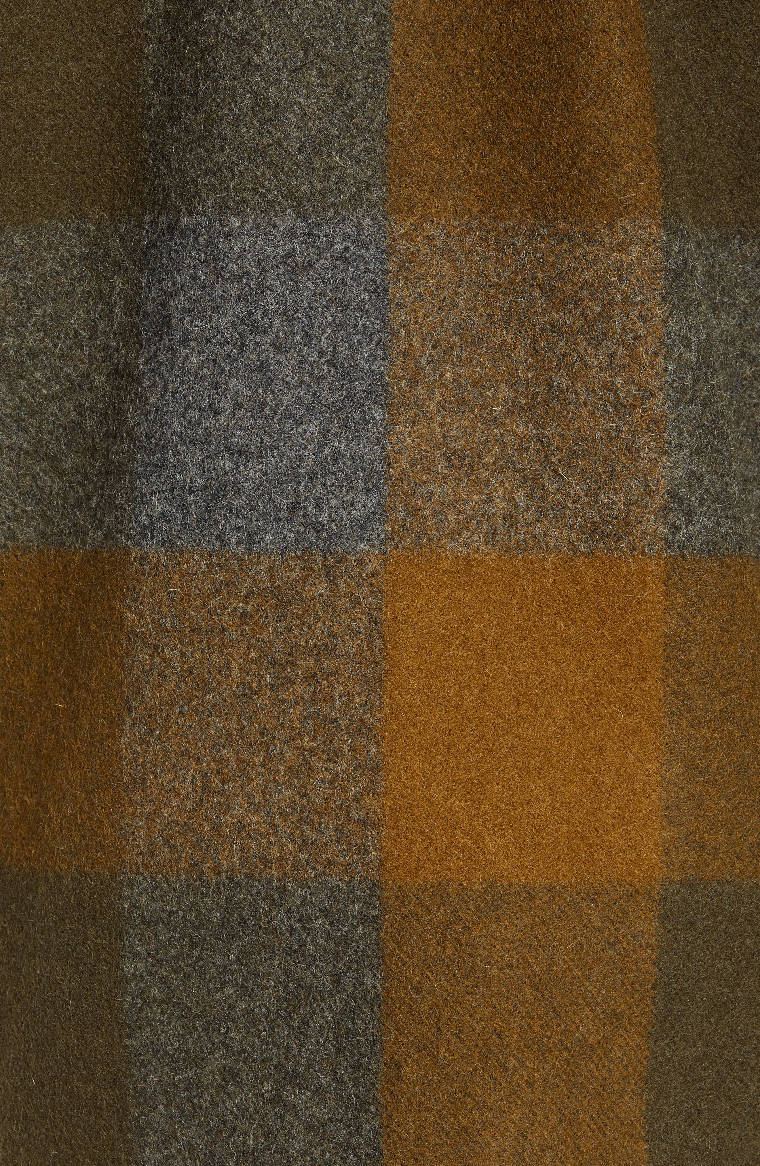 Mackinaw Plaid Wool Flannel Shirt Jacket,                             Alternate thumbnail 7, color,                             233
