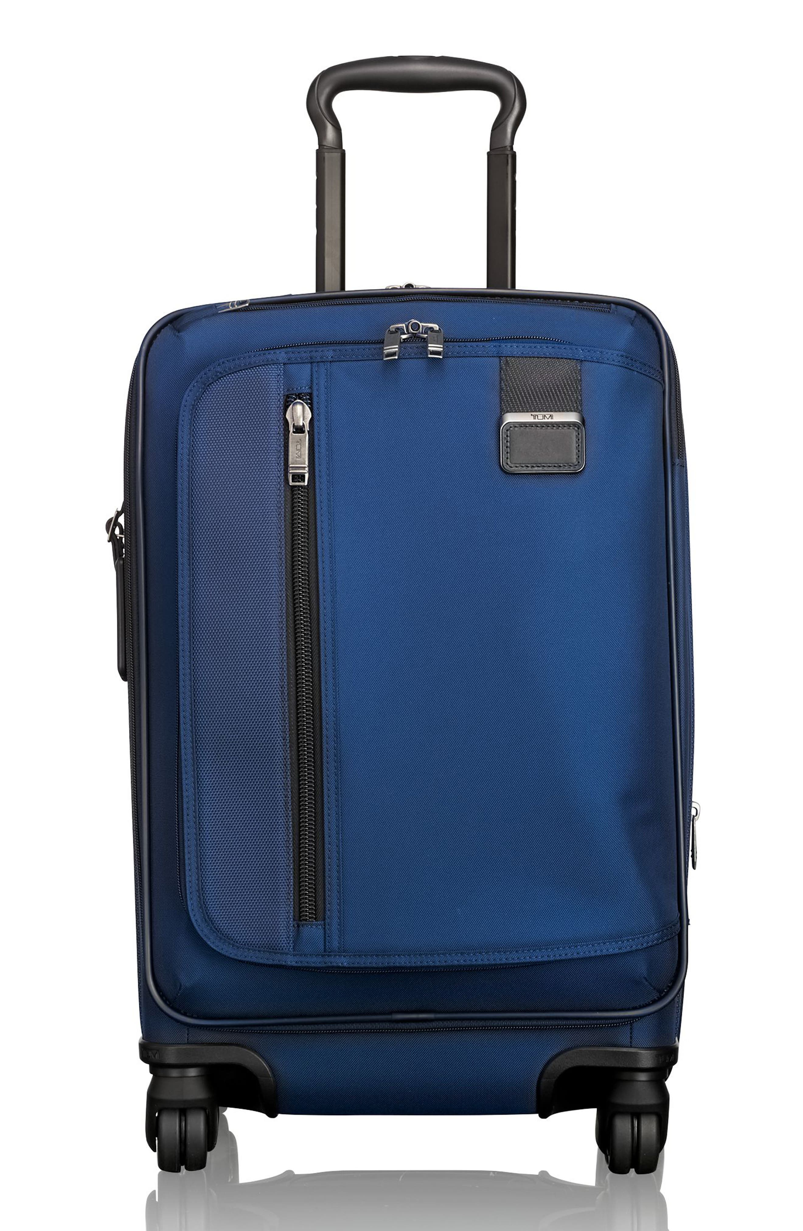Merge - 22-Inch International Expandable Rolling Carry-On,                             Main thumbnail 1, color,                             OCEAN BLUE