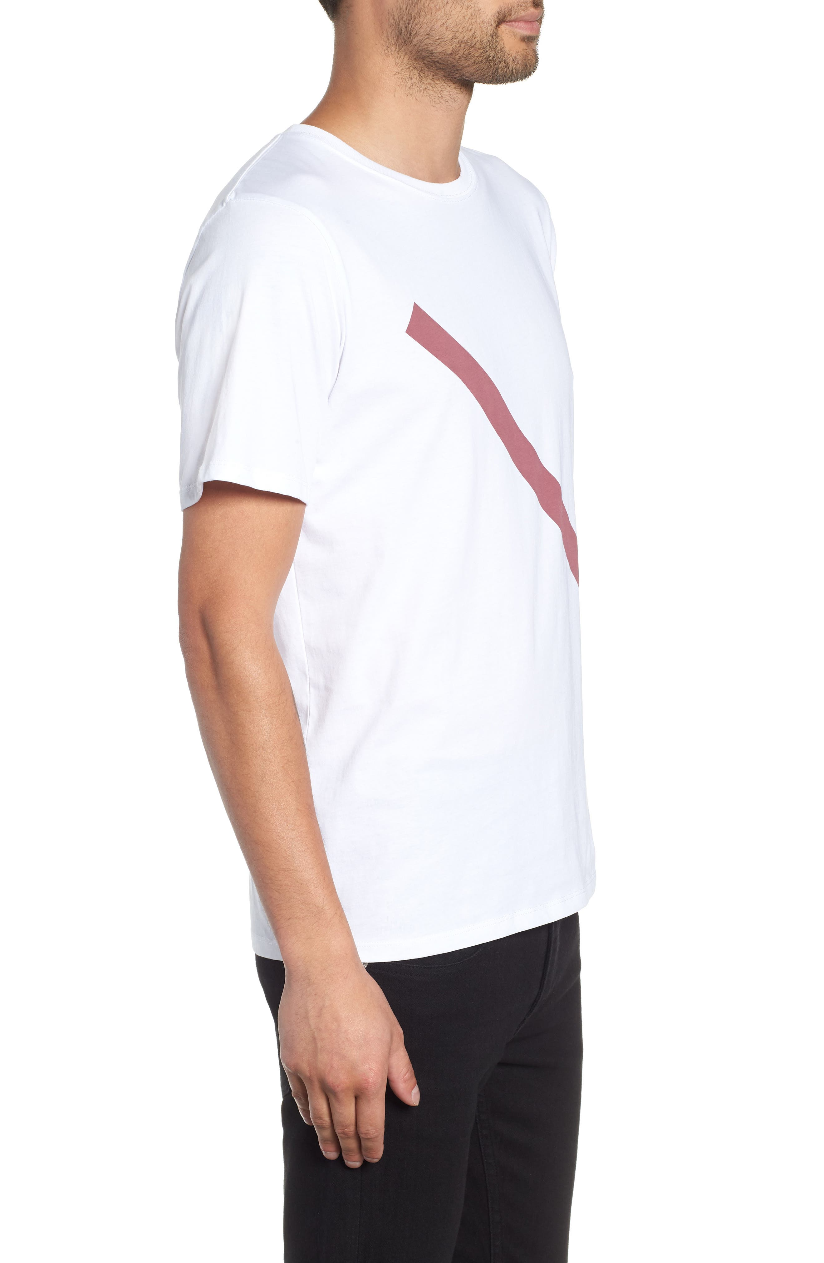 Slash Graphic T-Shirt,                             Alternate thumbnail 3, color,                             110
