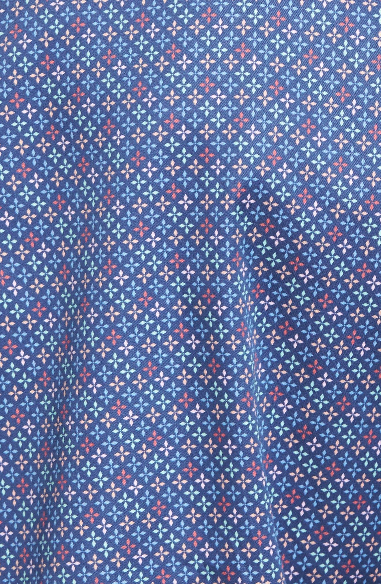 All Aces Regular Fit Sport Shirt,                             Alternate thumbnail 5, color,                             YANKEE BLUE