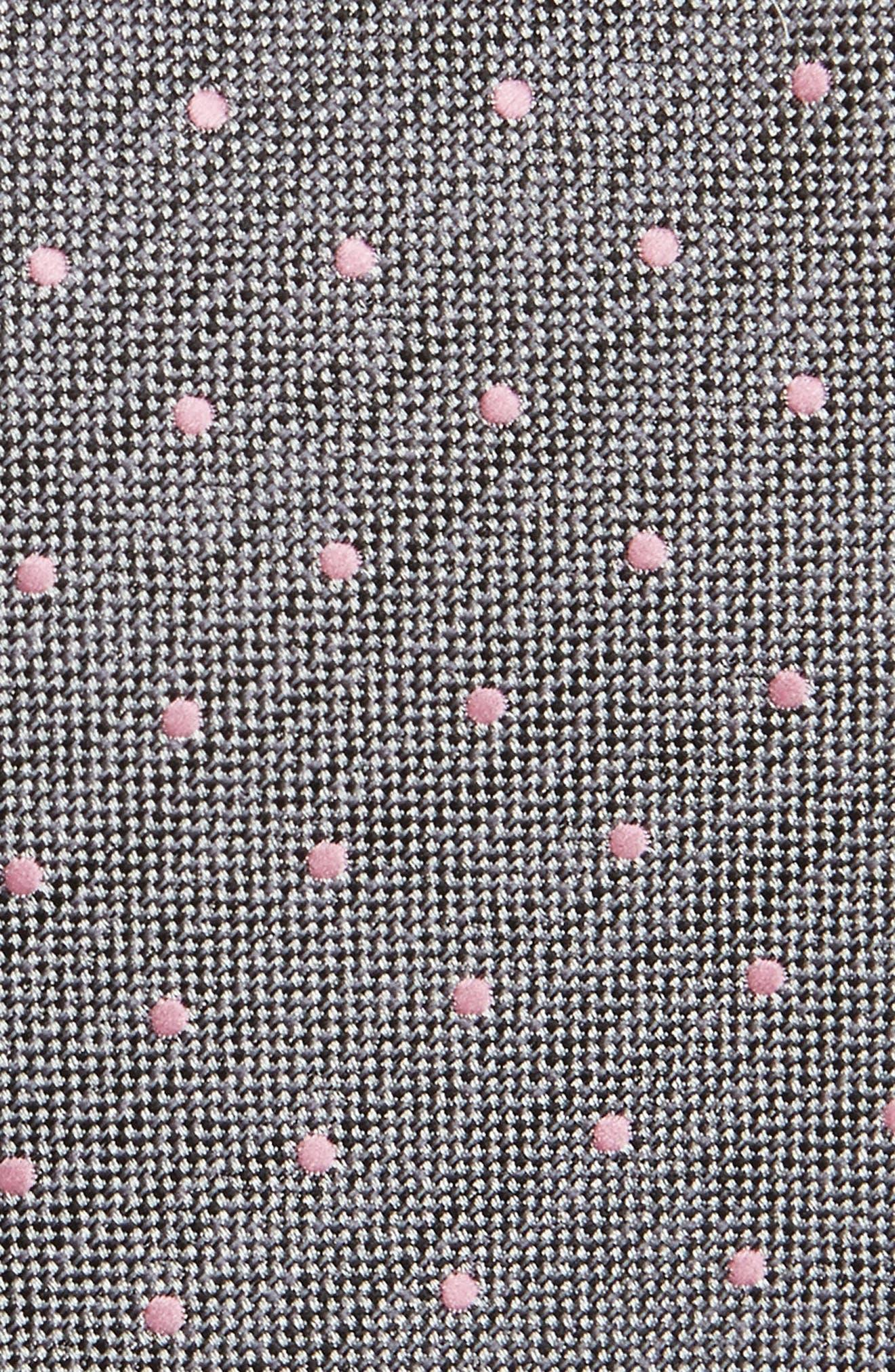 Dot Woven Tie,                             Alternate thumbnail 2, color,