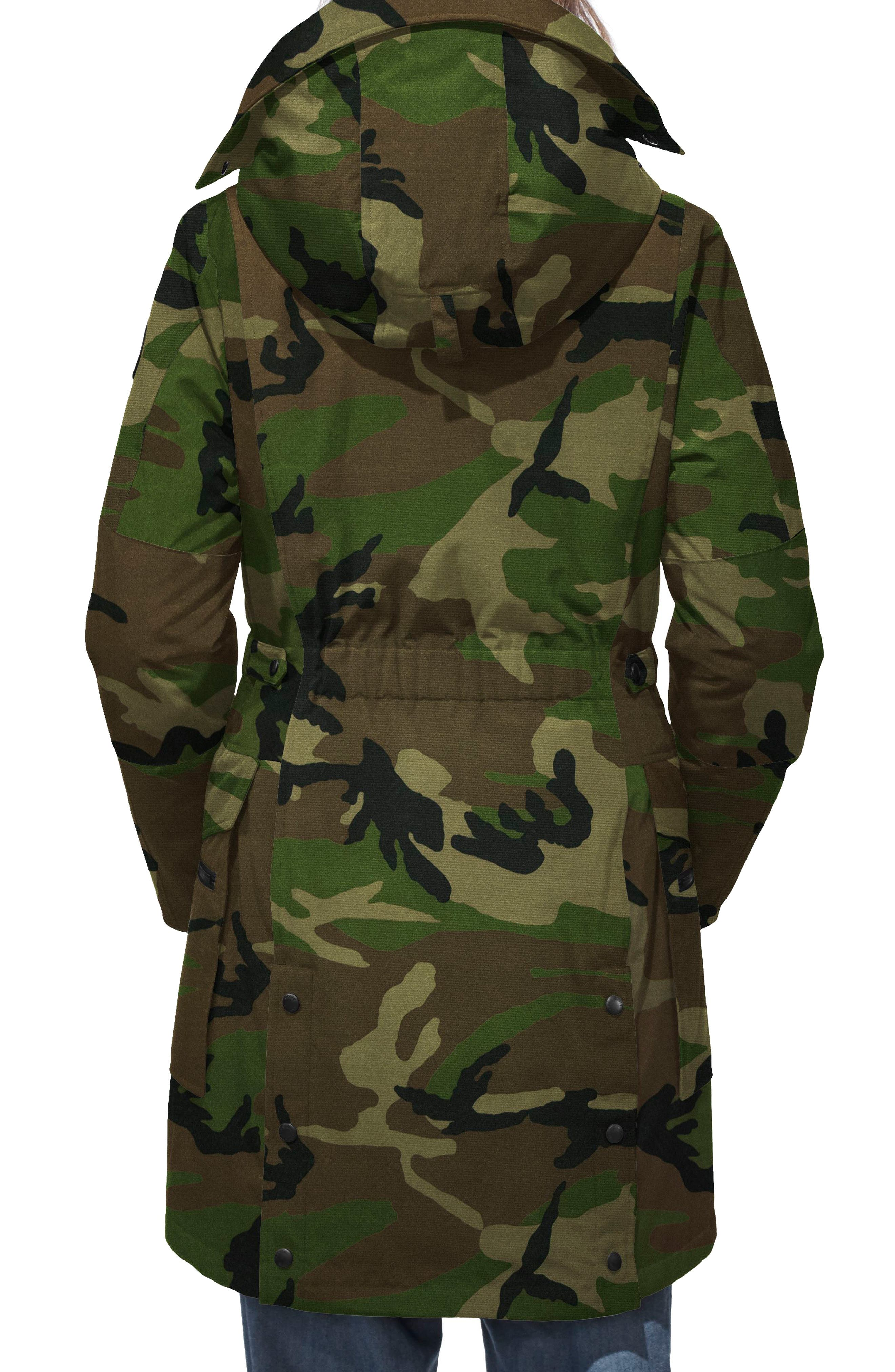 Kinley Insulated Parka,                             Alternate thumbnail 2, color,                             CLASSIC CAMO
