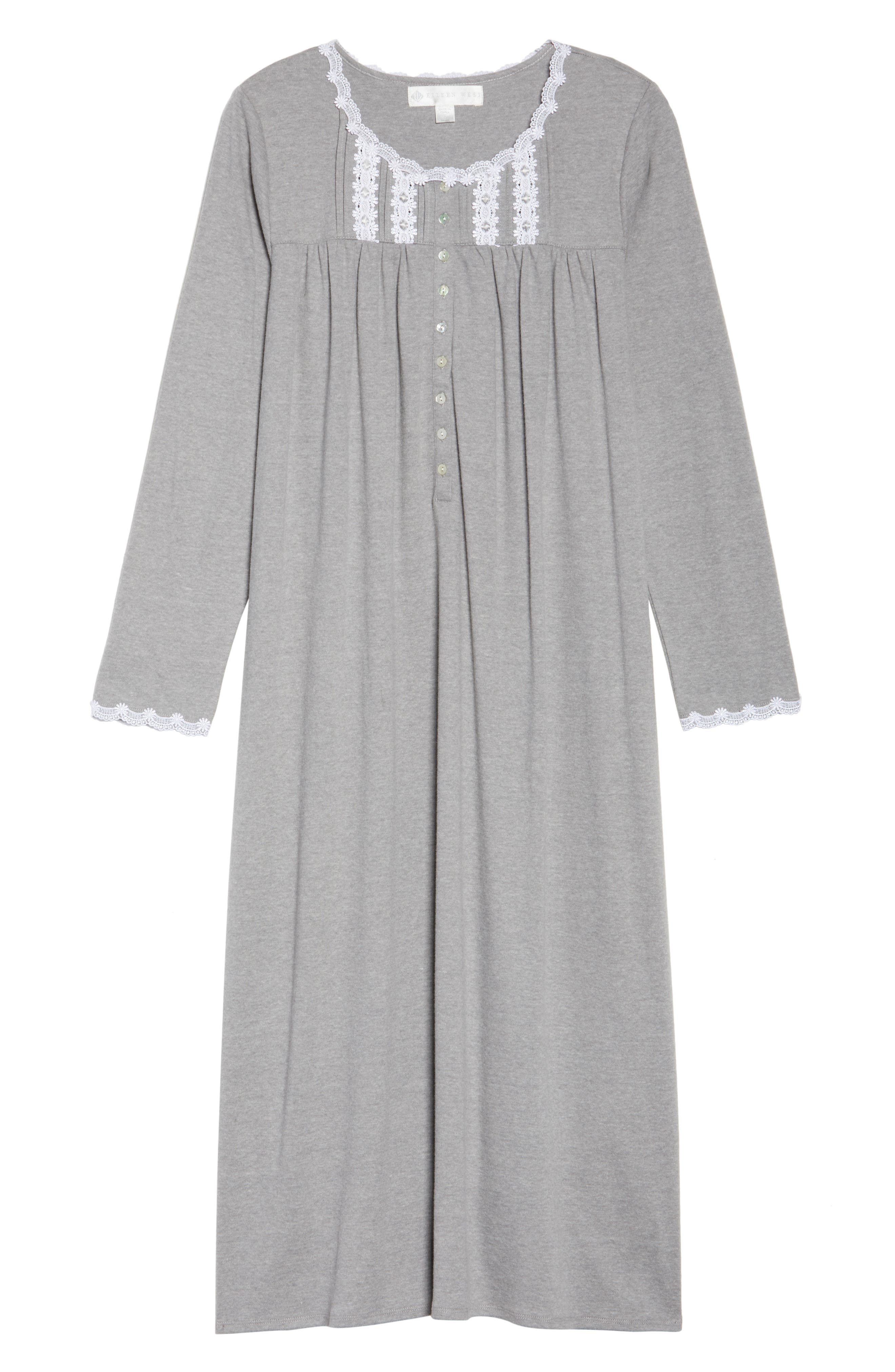 Jersey Nightgown,                             Alternate thumbnail 6, color,                             030